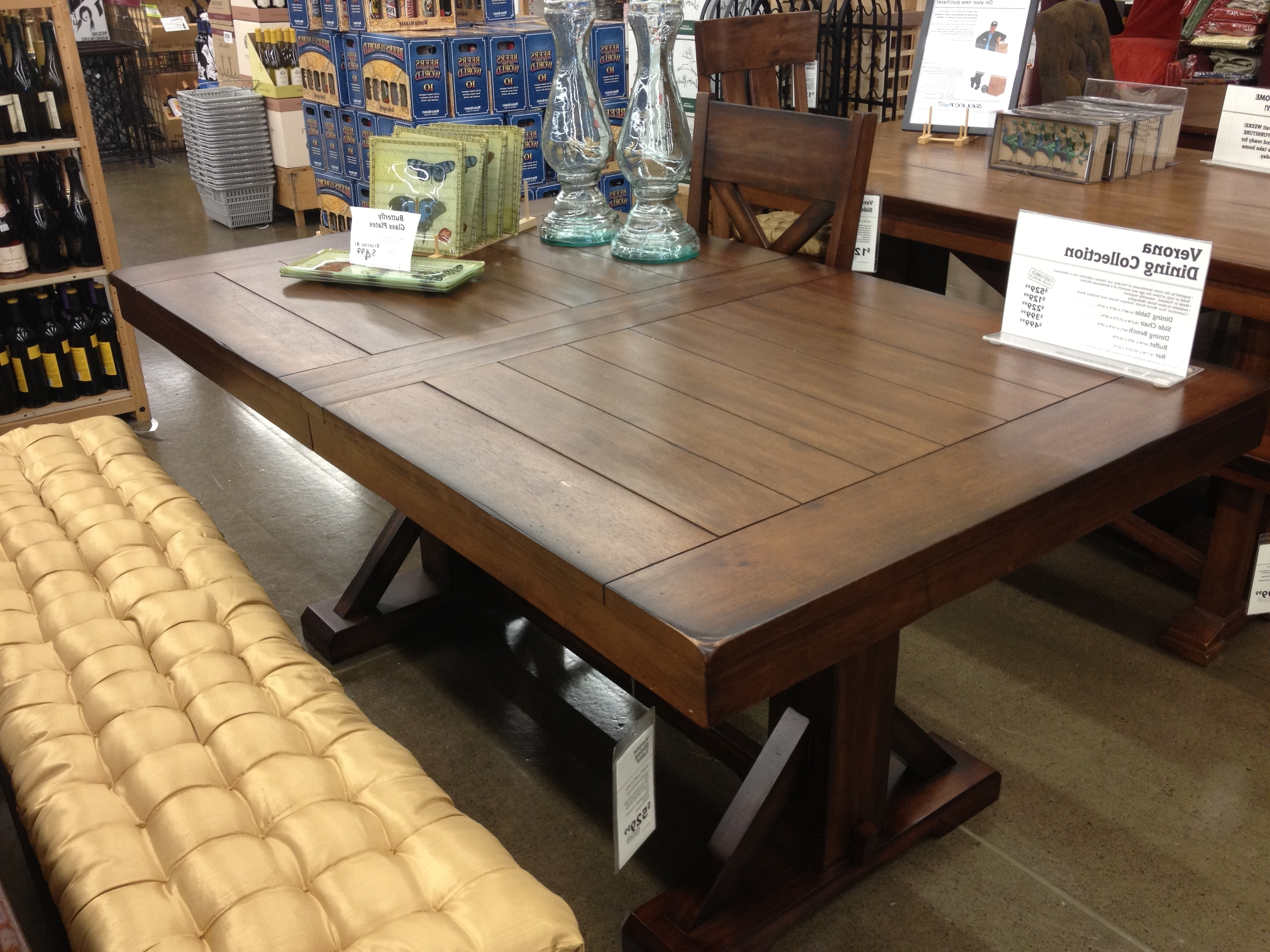 Well Known World Market Dining Table Enchanting Decor Dining Room Table World Pertaining To Market Dining Tables (View 22 of 25)