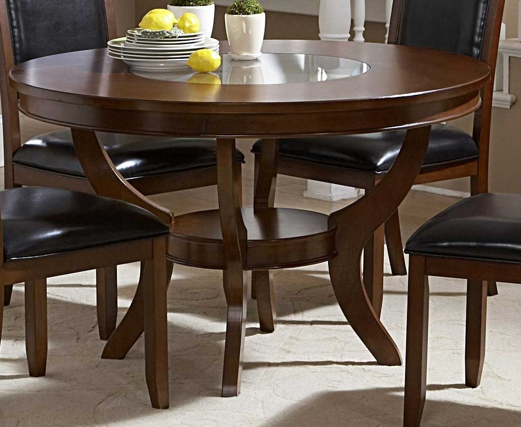 Well Liked 48 Round Dining Table Set – Castrophotos With Caira Black Round Dining Tables (View 24 of 25)