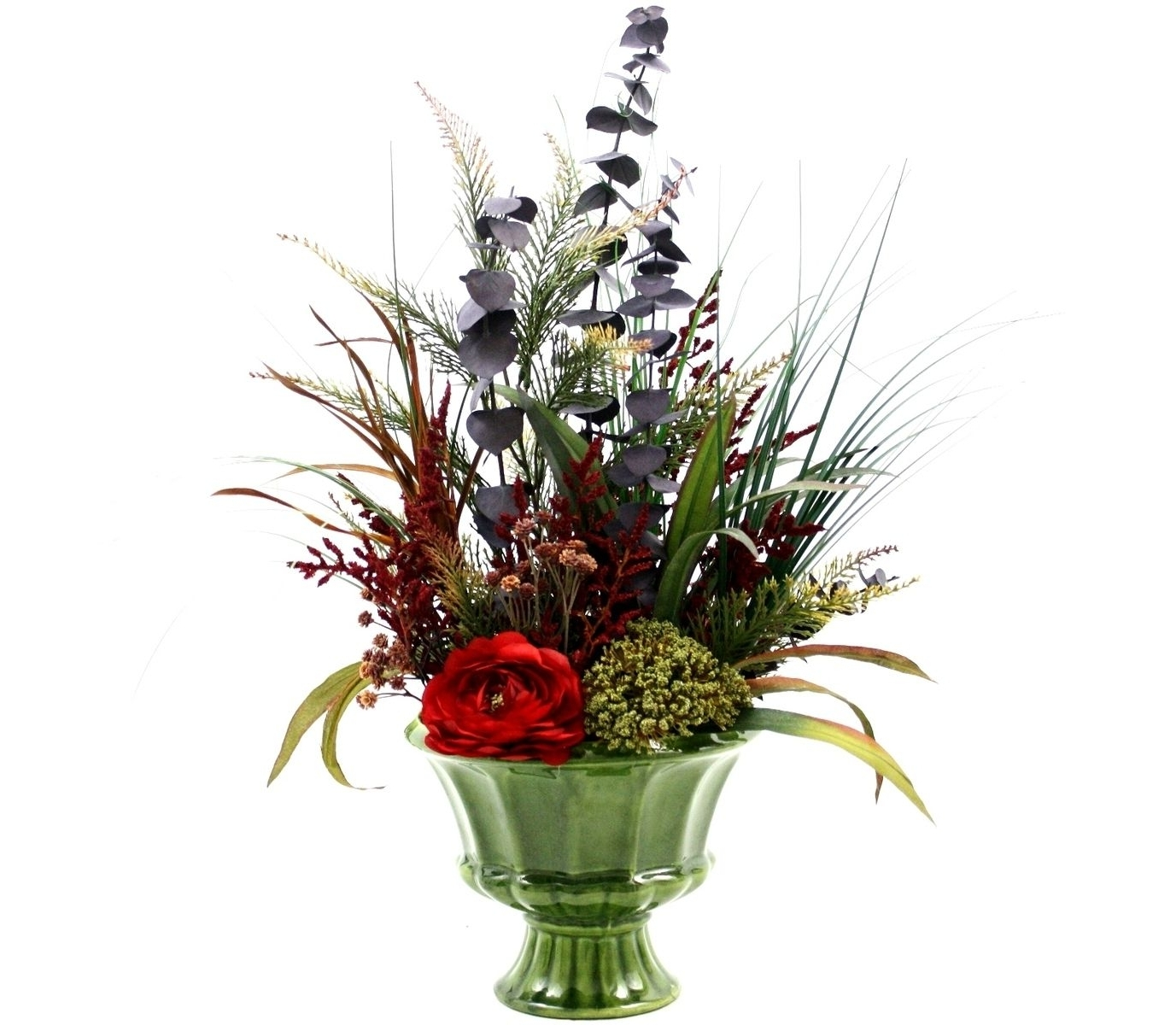 Well Liked Artificial Floral Arrangements For Dining Tables Pertaining To Custom Spring Decor Silk Flower Arrangement, Home Decorating, Dining (View 25 of 25)