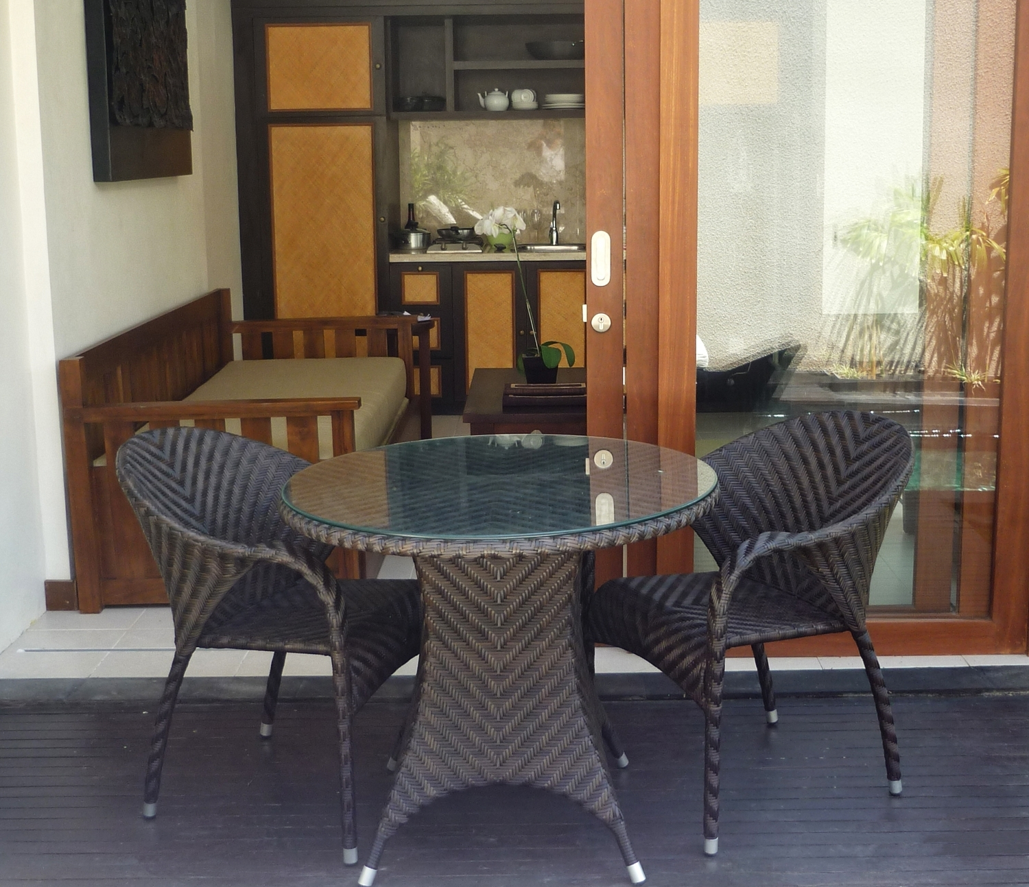 Well Liked Bathroom And Pool : Bali Furniture Outdoor Dining Table Chair With Balinese Dining Tables (View 24 of 25)