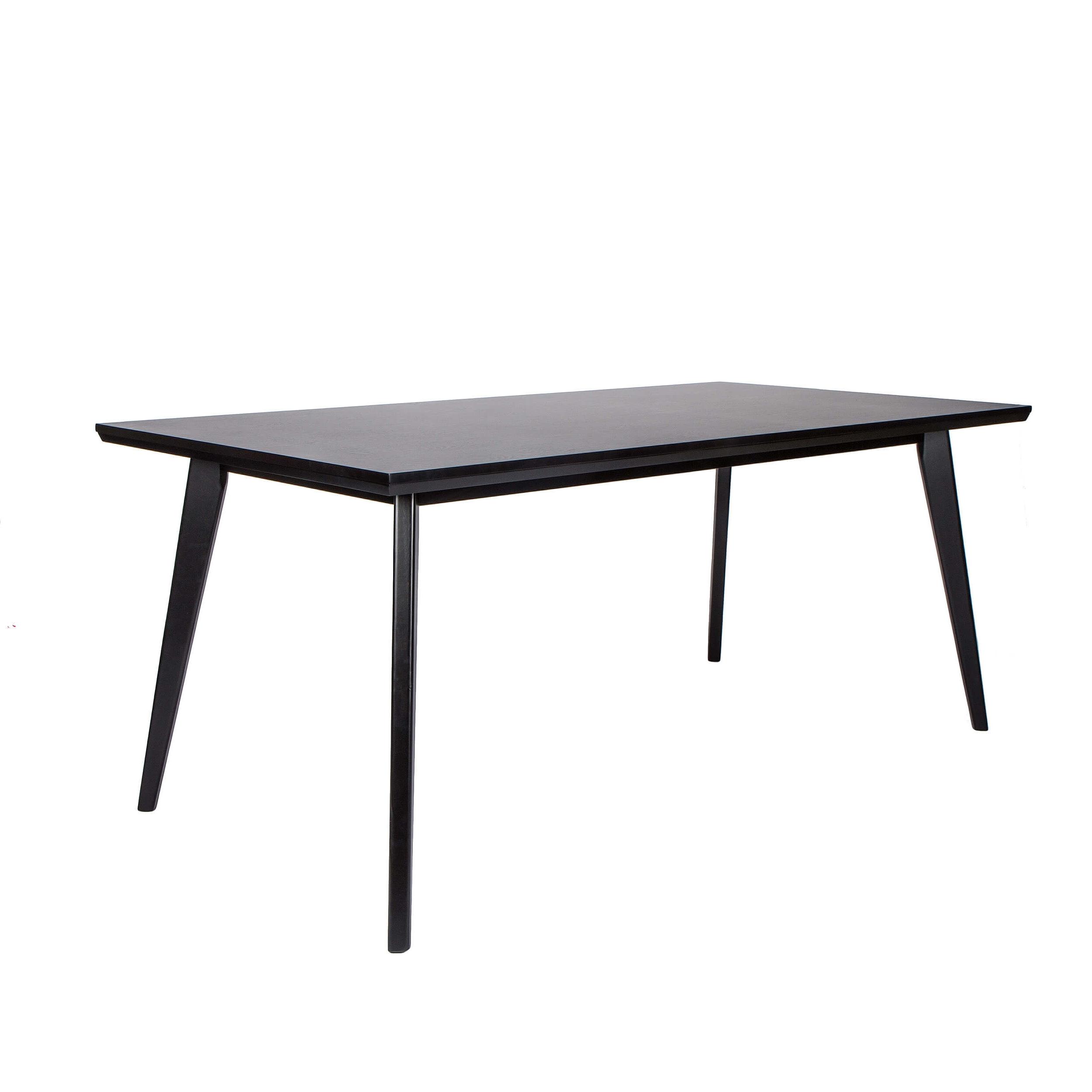 Well Liked Black Dining Table – Rectangular – Seats 6 – Mason With Black Dining Tables (View 3 of 25)