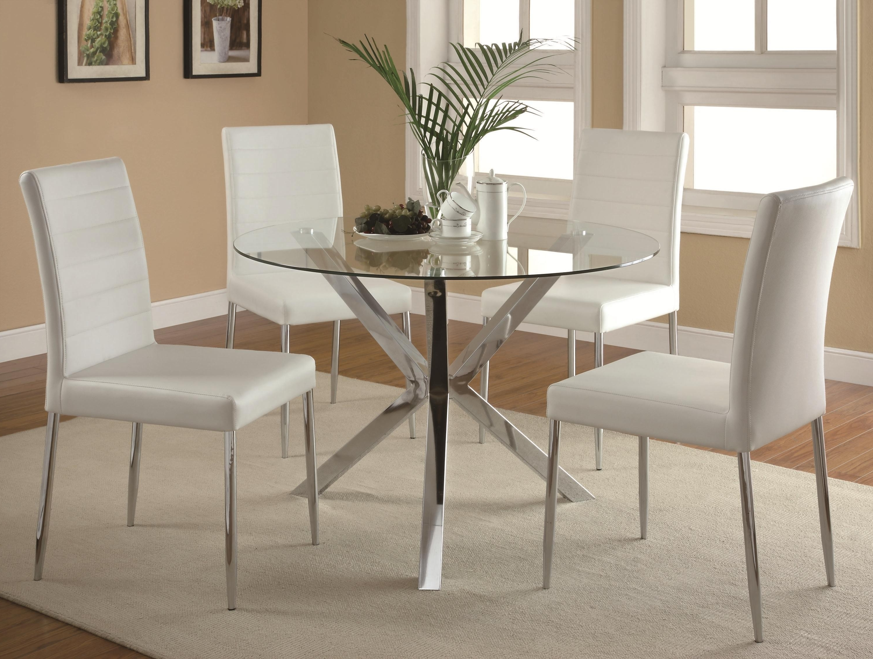 Well Liked Cheap Glass Dining Tables And 4 Chairs Throughout Contemporary Round Glass Dining Table Best Of Glass Top Dining Table (View 20 of 25)