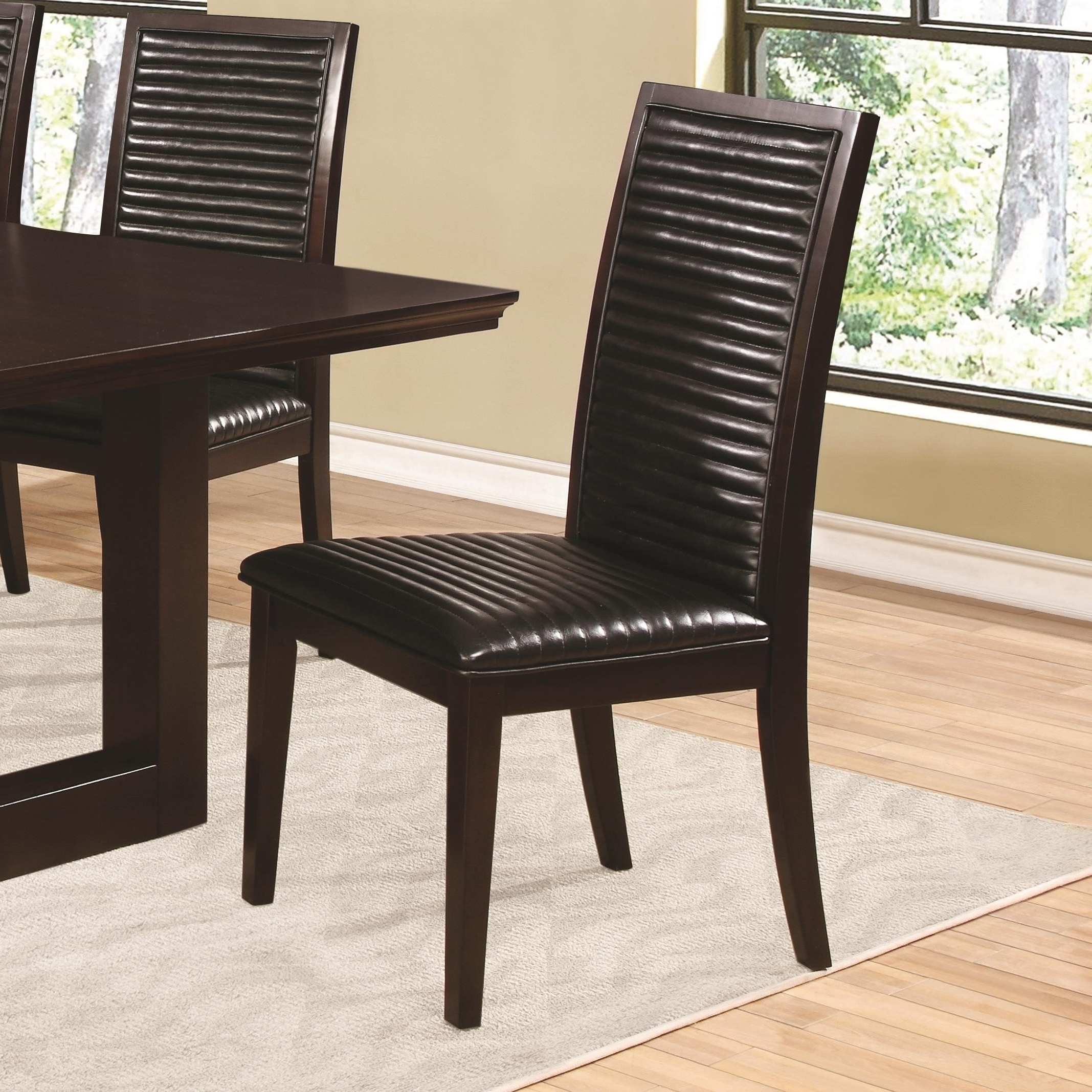 Well Liked Chester Dining Chairs With Buy Chester Dining Side Chair With Upholstered Seat And Back (View 24 of 25)