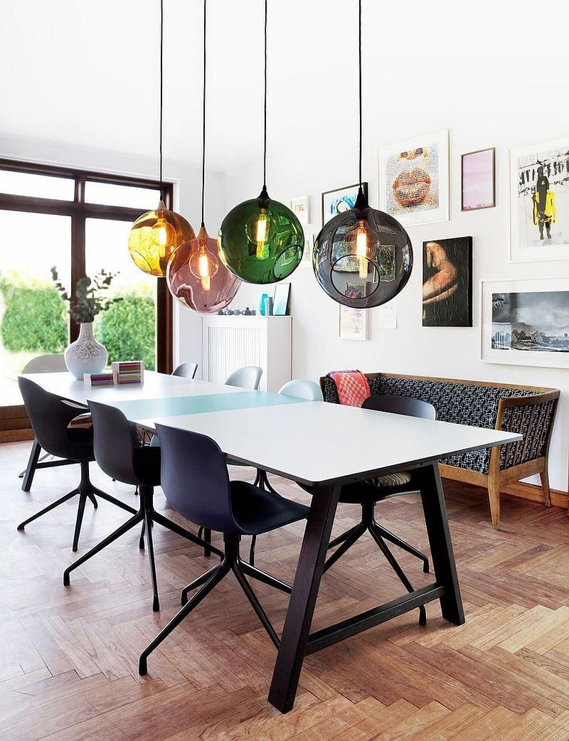 Well Liked Chic Dining Room Furniture Made In The Usa Pendant Lights Over Table Inside Lights Over Dining Tables (View 15 of 25)