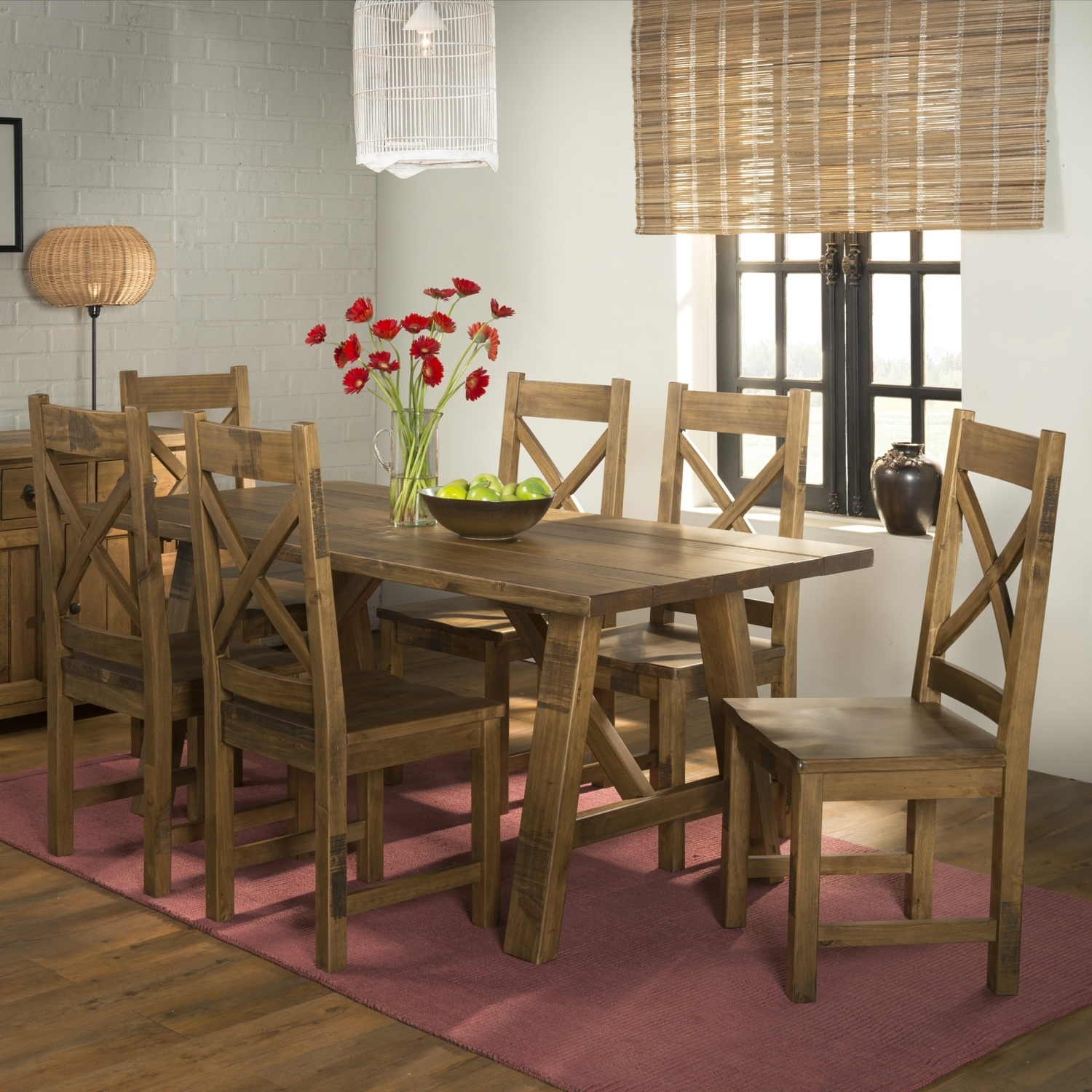 Well Liked Cotswold Dining Tables With Pair Of Cotswold Rustic Dining Chairs (View 16 of 25)