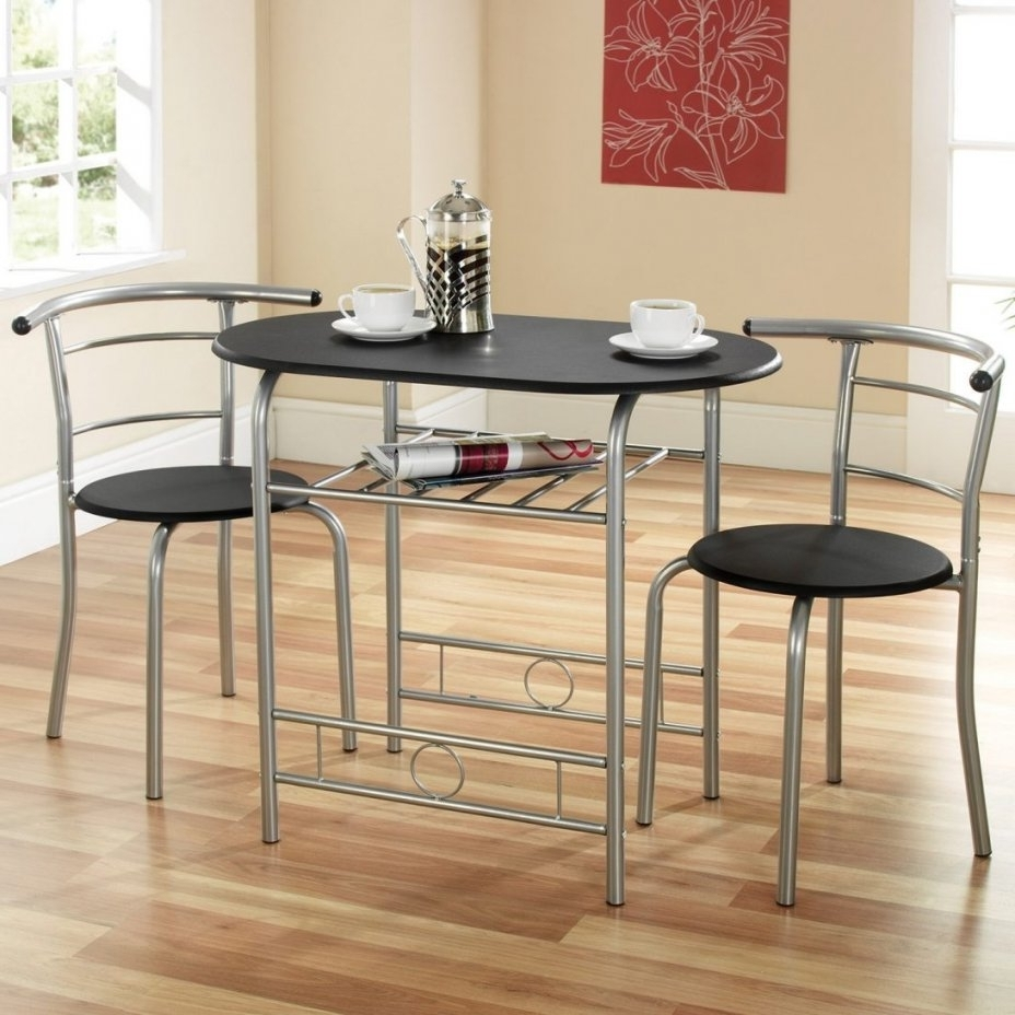 Well Liked Dining Tables With 2 Seater Within 2 Seater Dining Table Set In Stylish Two Kitchen And Chairs Tables (View 7 of 25)