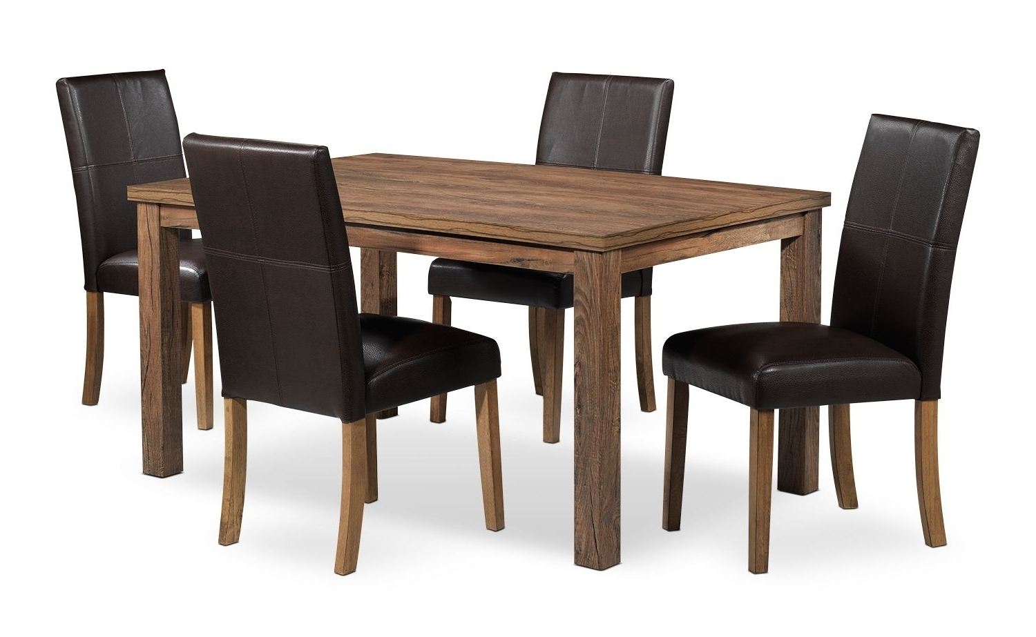 Well Liked Leon 7 Piece Dining Sets Within Leon – Ryder Dînettes Dînette 5 Mcx – 800$ (View 25 of 25)