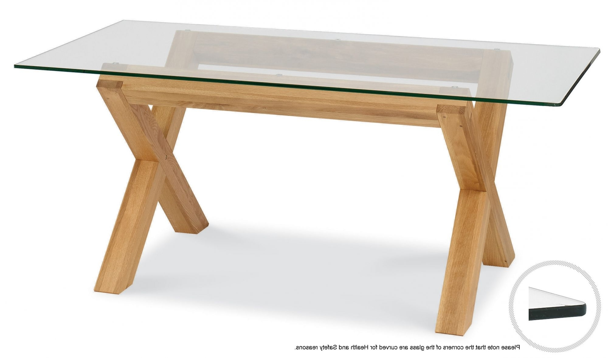 Well Liked Lyon Dining Tables With Regard To Lyon Glass Dining Table (View 4 of 25)