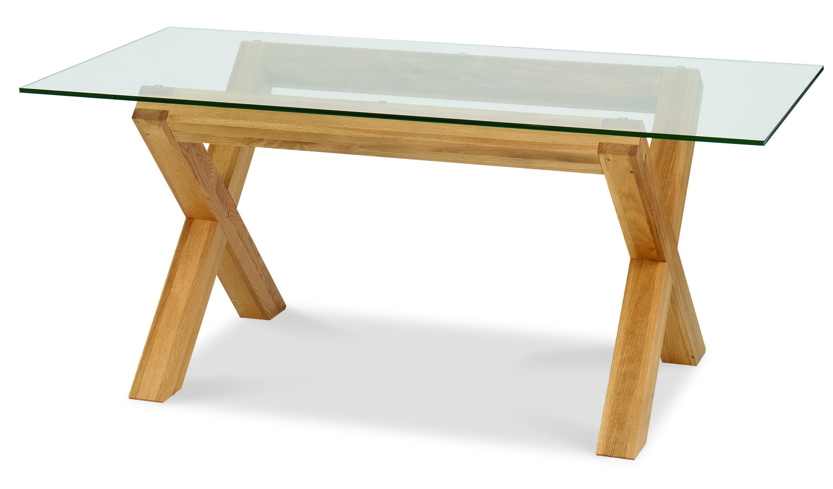 Well Liked Lyon Oak Glass Dining Table (View 6 of 25)