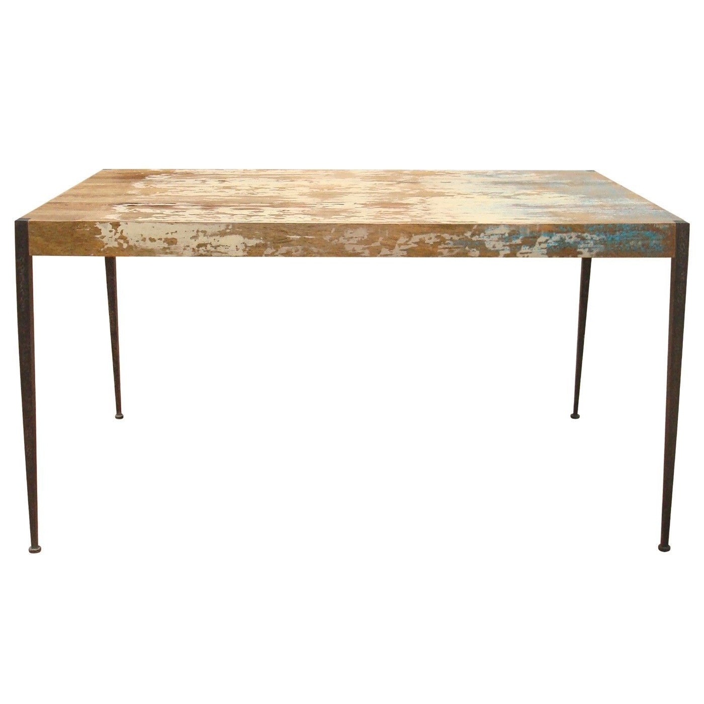 Well Liked Mango Wood/iron Dining Tables Pertaining To Astoria Dining Table Solid Mango Wood Iron Leg (View 25 of 25)
