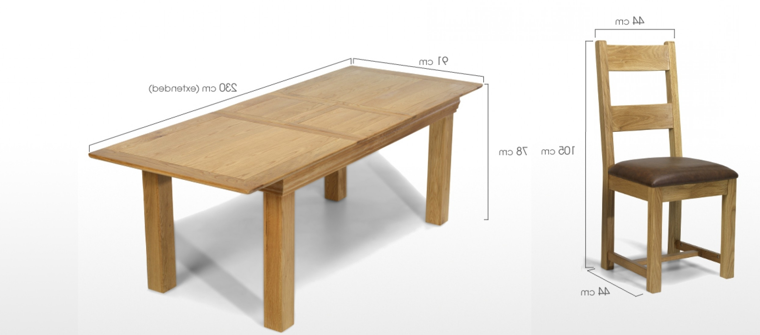 Well Liked Oak Dining Tables And 8 Chairs In Constance Oak 180 230 Cm Extending Dining Table And 8 Chairs (View 11 of 25)