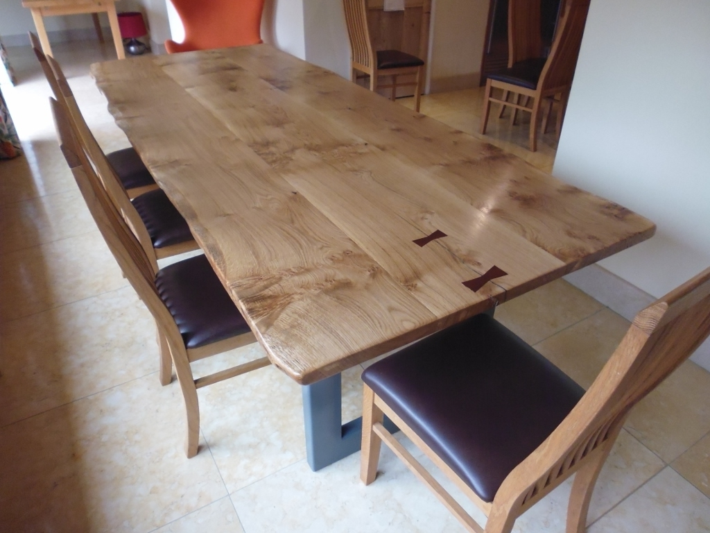 Well Liked Oak Dining Tables Regarding Awesome Oak Dining Table : Ugarelay – Ideas To Care Oak Dining Table (View 22 of 25)