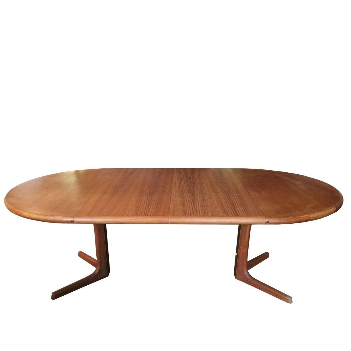 Well Liked Oval Danish Teak Dining Tabledrylund At 1Stdibs With Danish Dining Tables (View 6 of 25)