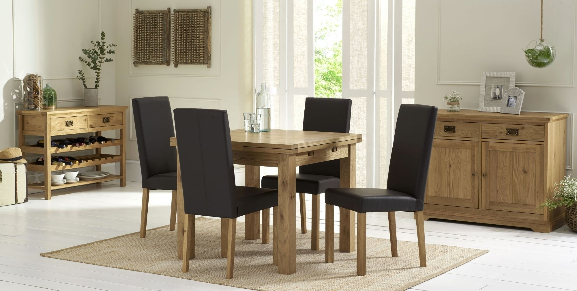 Well Liked Provence Oak 2 4 Seater Extending Dining Table – Style Our Home In 4 Seater Extendable Dining Tables (View 24 of 25)