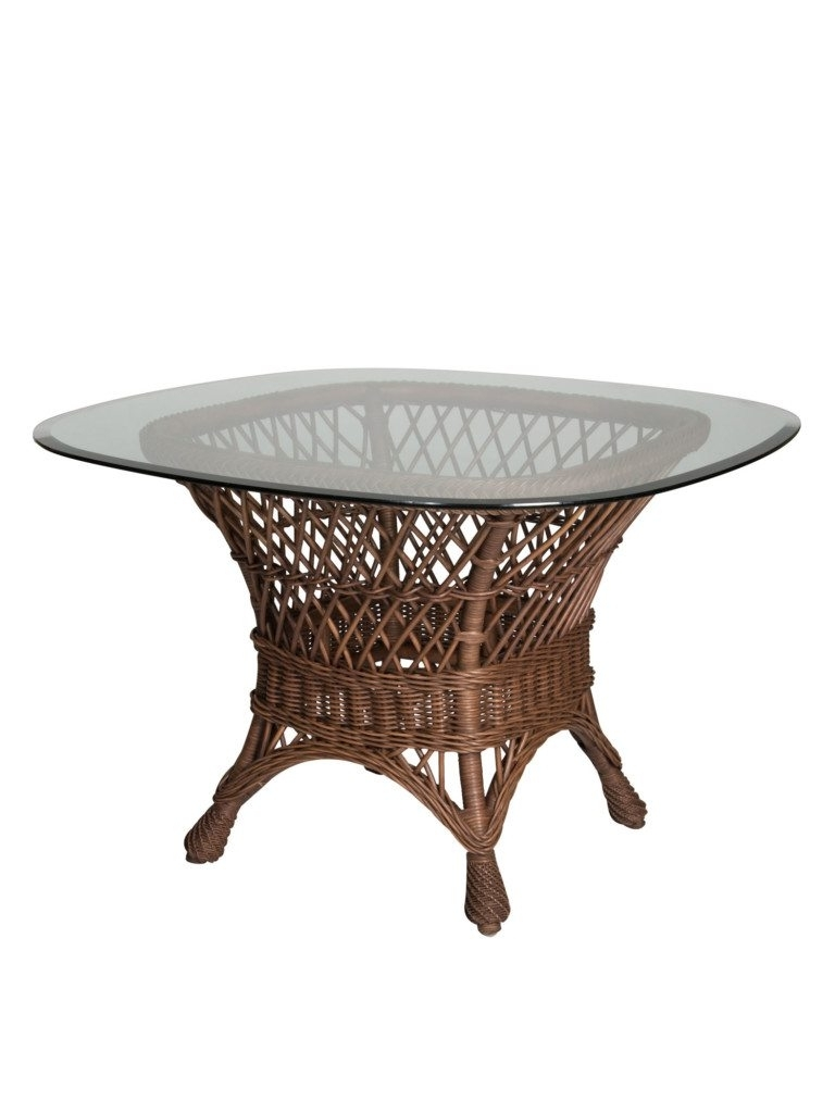 Well Liked Savannah Wicker Dining Table Base (View 16 of 25)