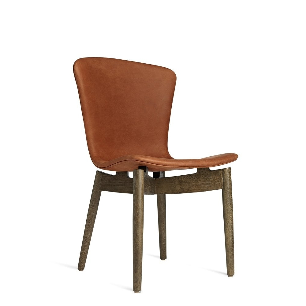 Well Liked Shell Dining Chair – Dunes Red Leather And Grey Oak Within Red Leather Dining Chairs (View 20 of 25)