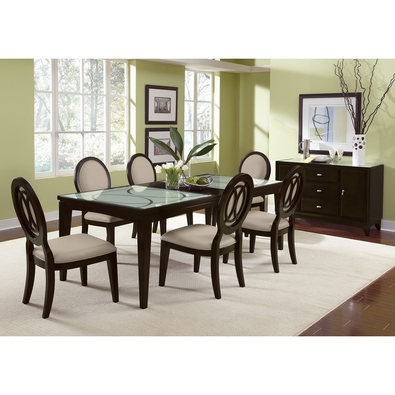 Well Liked Shop 7 Piece Dining Room Sets (View 25 of 25)
