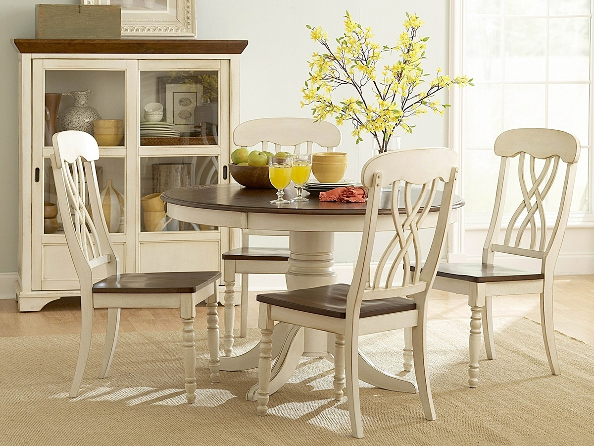 Well Liked Small Round Dining Table With 4 Chairs Throughout Kitchen Dining Table And 4 Chairs Dining Room Table Furniture Round (View 25 of 25)