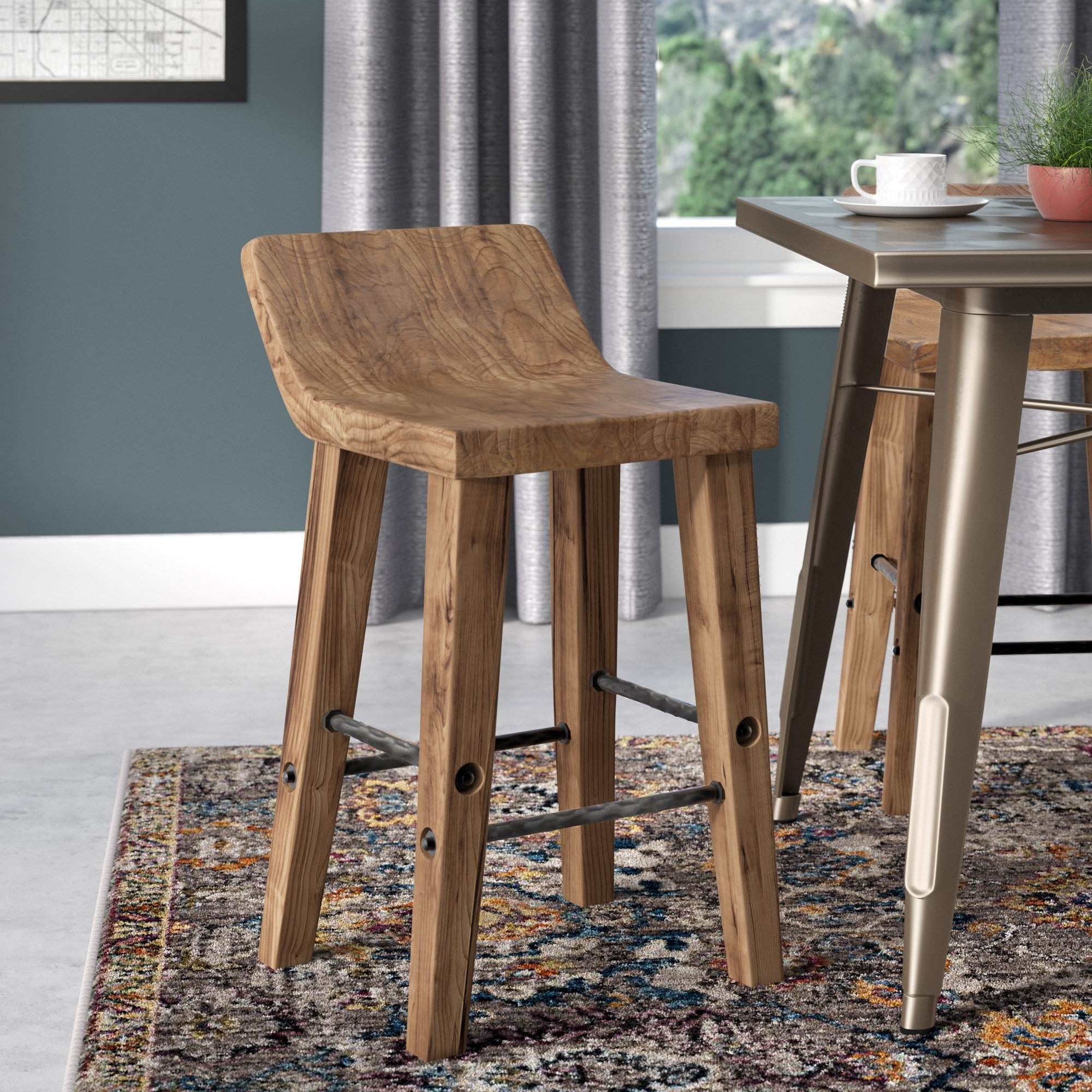 Well Liked Trent Austin Design Feinberg Bar & Counter Stool & Reviews (View 4 of 25)