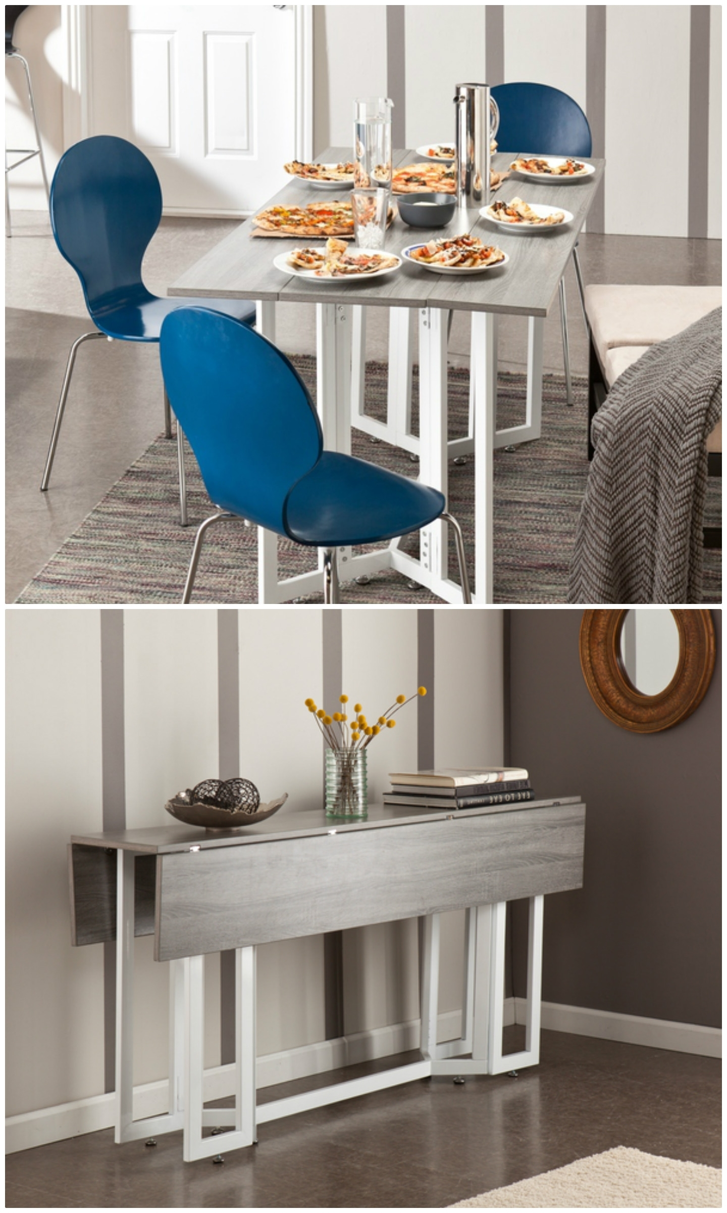 Well Liked Twenty Dining Tables That Work Great In Small Spaces – Living In A In Compact Folding Dining Tables And Chairs (View 24 of 25)