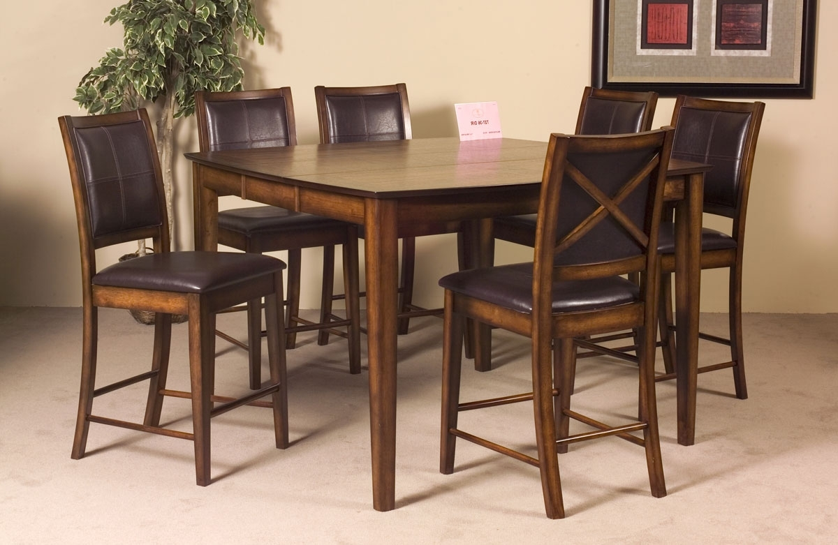 """Well Liked Verona Dining Tables Intended For Verona 40"""" Counter Height Table W/ 14"""" Leafhomelegance (View 23 of 25)"""