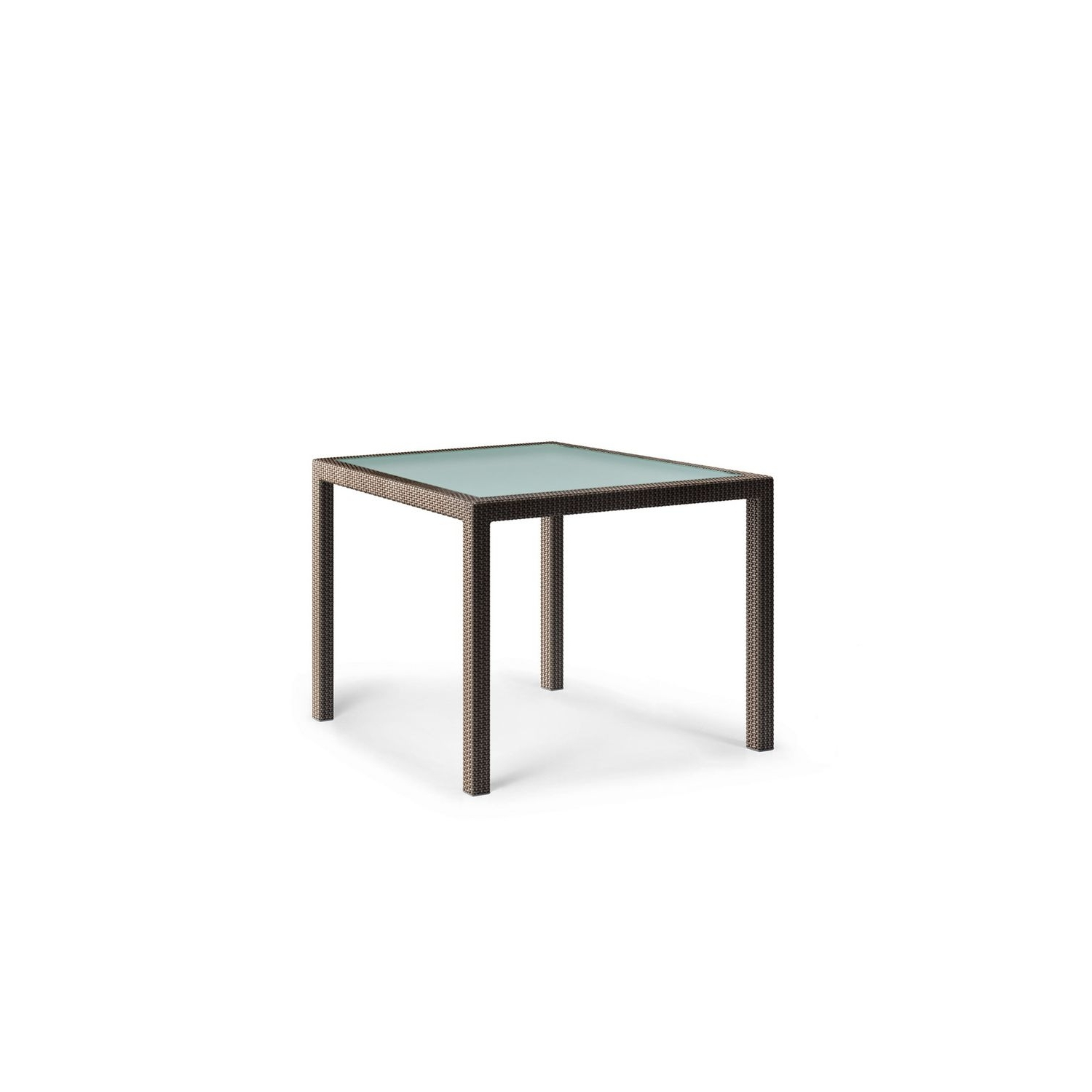 Well Liked Wicker And Glass Dining Tables Regarding Contemporary Dining Table / Glass / Resin Wicker / Rectangular (View 25 of 25)