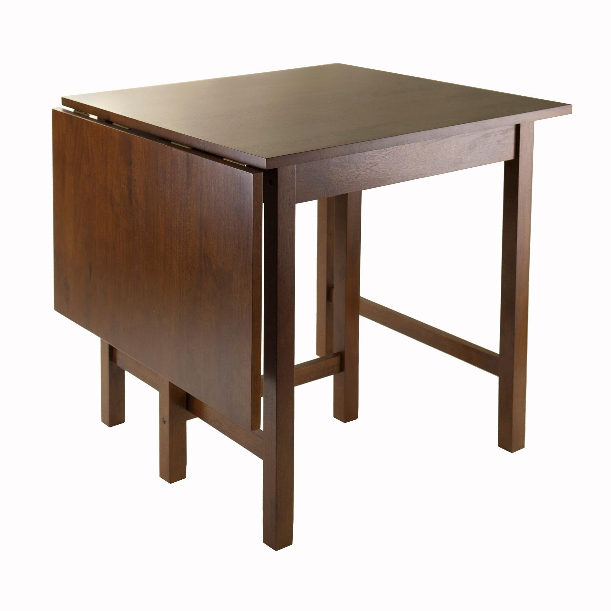 Well Liked Winsome Wood Lynden Drop Leaf Dining Table: Amazon (View 18 of 25)