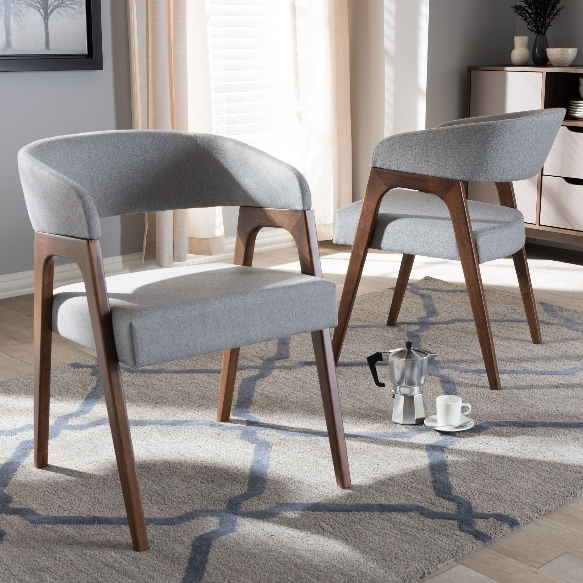 Weston Home Farmhouse Dining Chair With Cross Back (Set Of With Most Recently Released Carly 3 Piece Triangle Dining Sets (View 6 of 25)