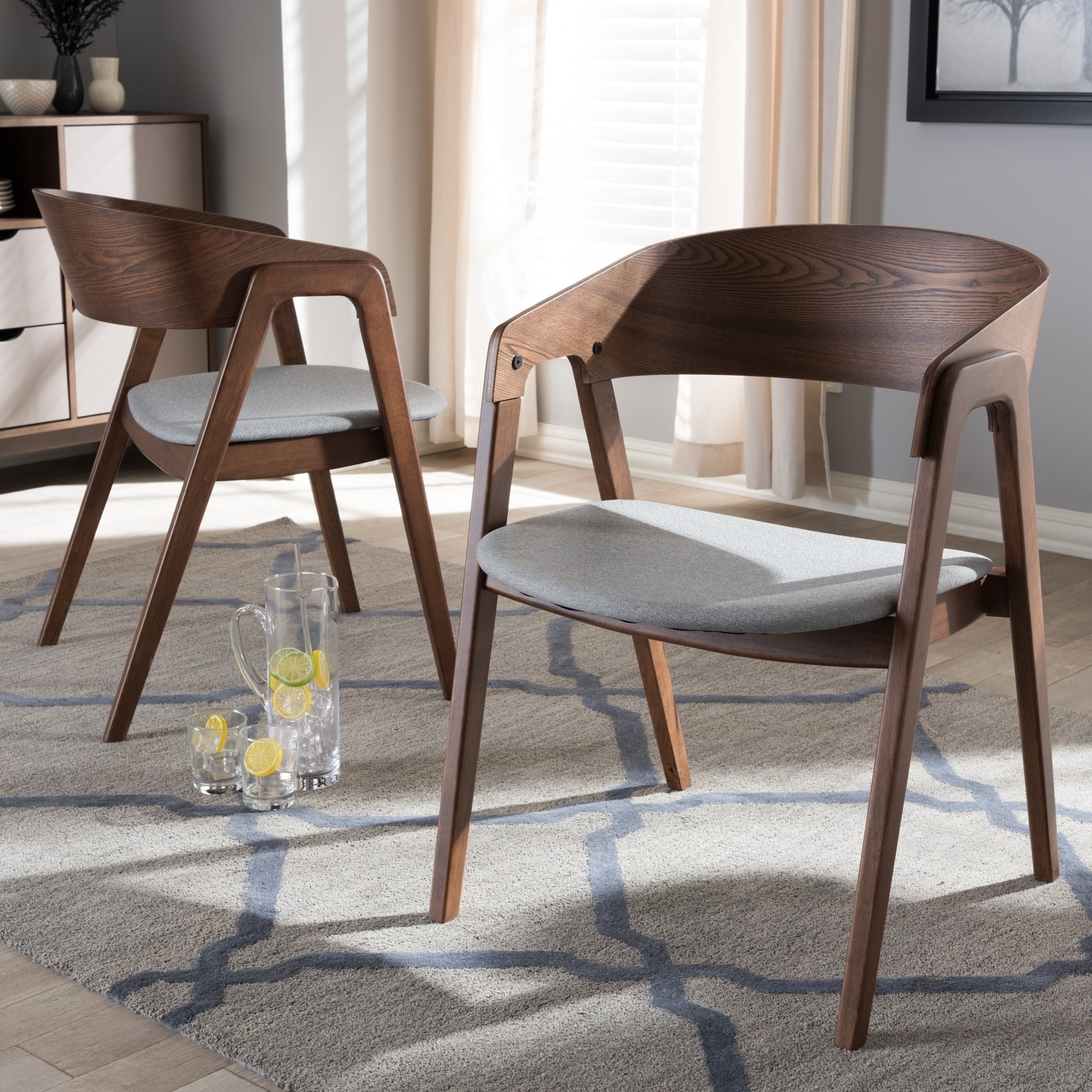 Weston Home Farmhouse Dining Chair With Cross Back (Set Of With Regard To 2018 Carly 3 Piece Triangle Dining Sets (View 24 of 25)