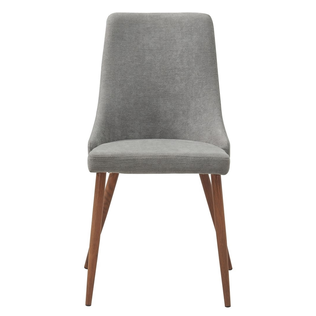 Whi Cora Side Chair (Set Of 2 – Grey & Walnut) – 202 182Gy (View 24 of 25)
