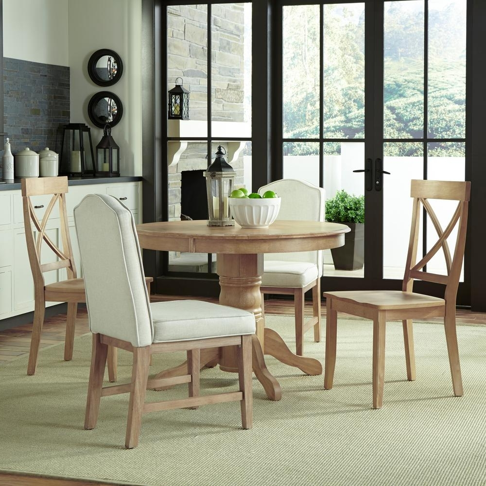 White Dining Sets Throughout Most Recently Released Home Styles Classic 5 Piece White Wash Dining Set 5170 3082 – The (View 25 of 25)