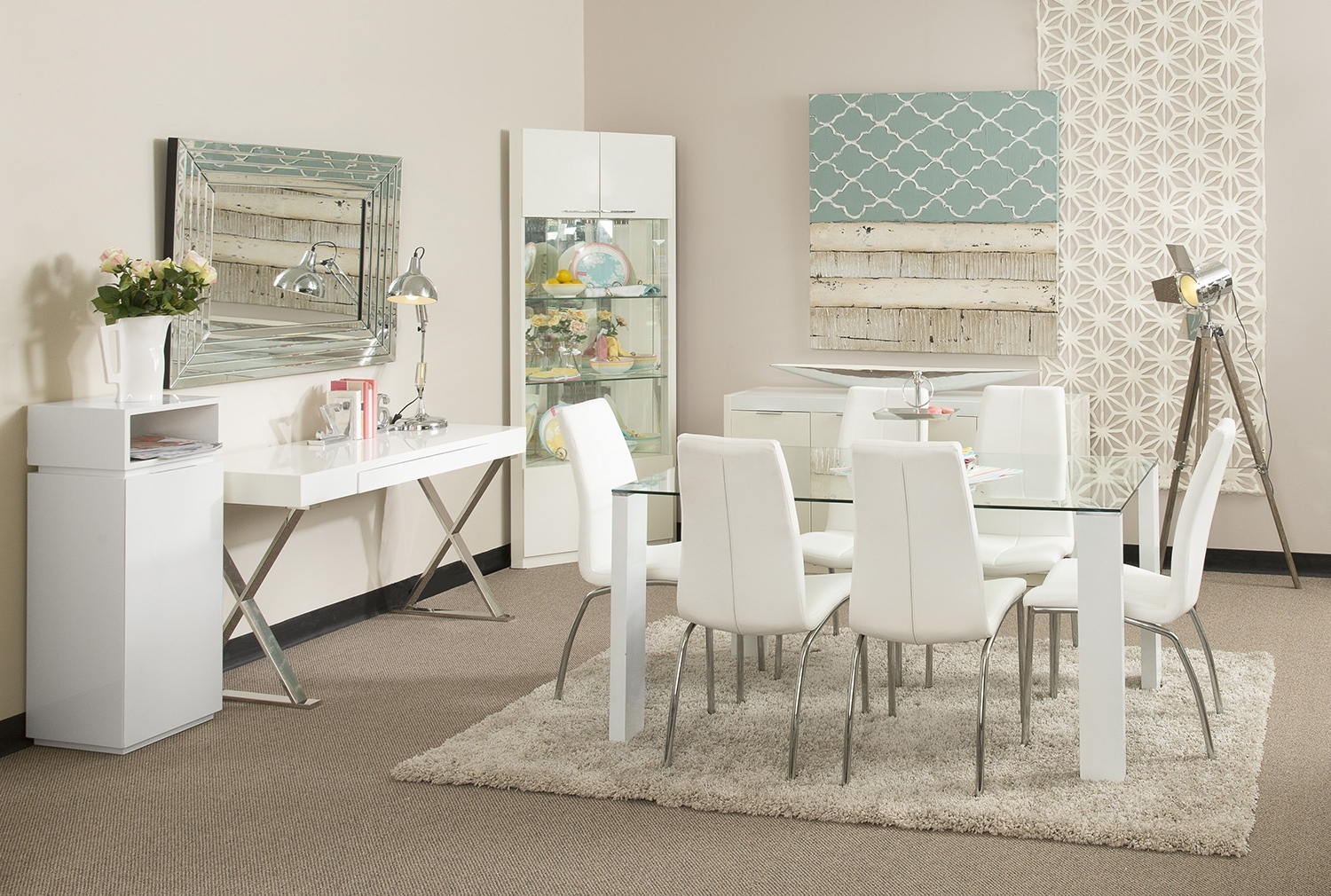 Featured Photo of White Dining Suites