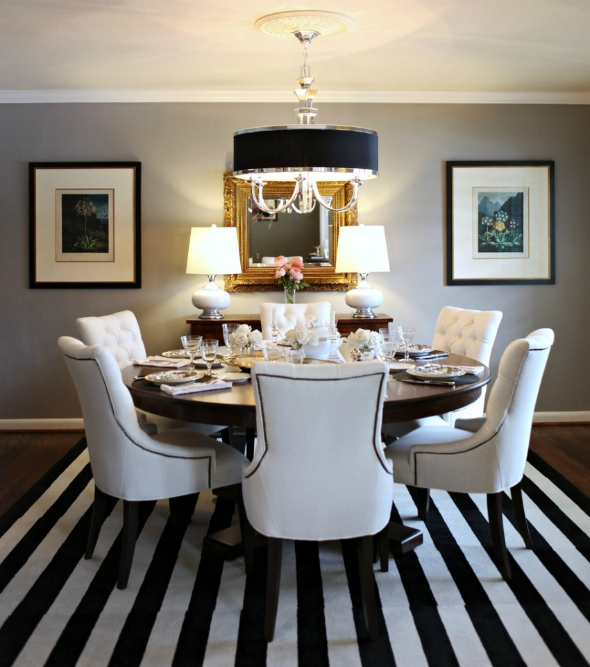 White Leather Dining Room Chairs With Most Popular The Most Sophisticated White Leather Dining Chairs (View 20 of 25)