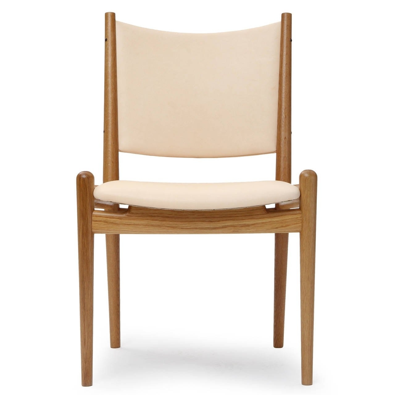 White Oak And Leather Dining Chairshans Wegner For Sale At 1Stdibs For Latest Oak Leather Dining Chairs (View 16 of 25)