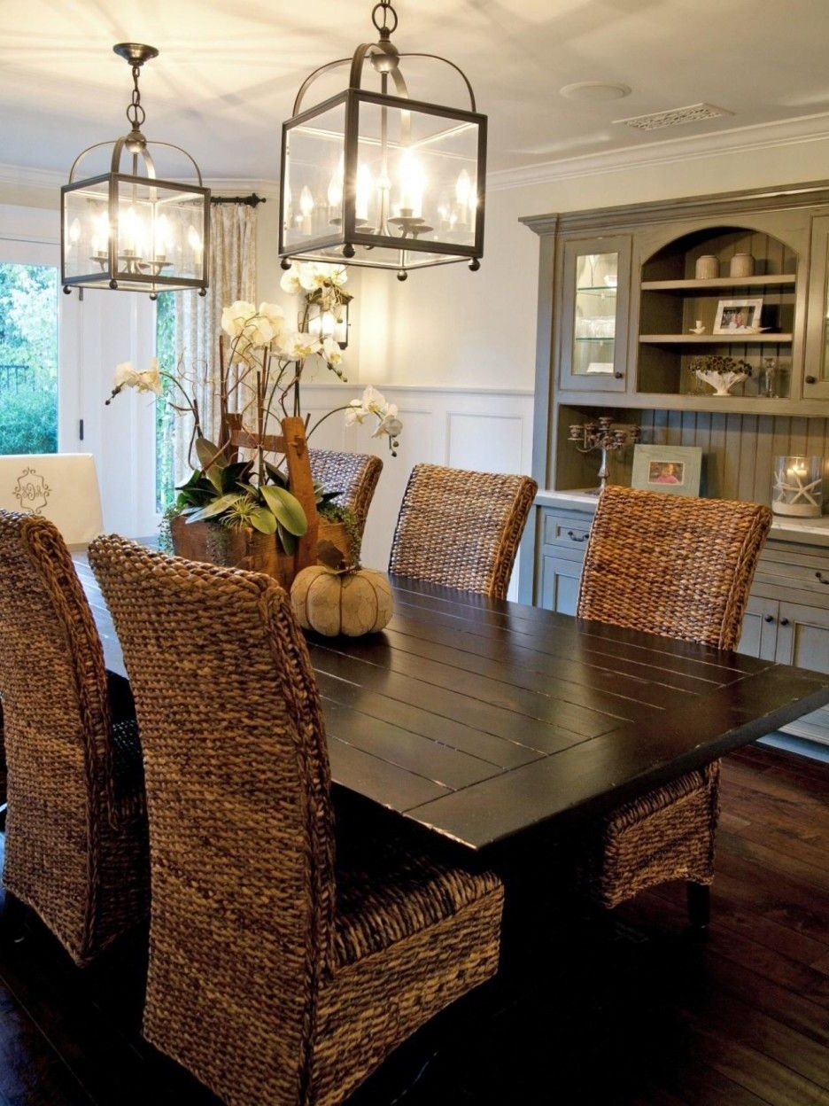 Wicker Dining Room Chairs Sale (View 2 of 25)
