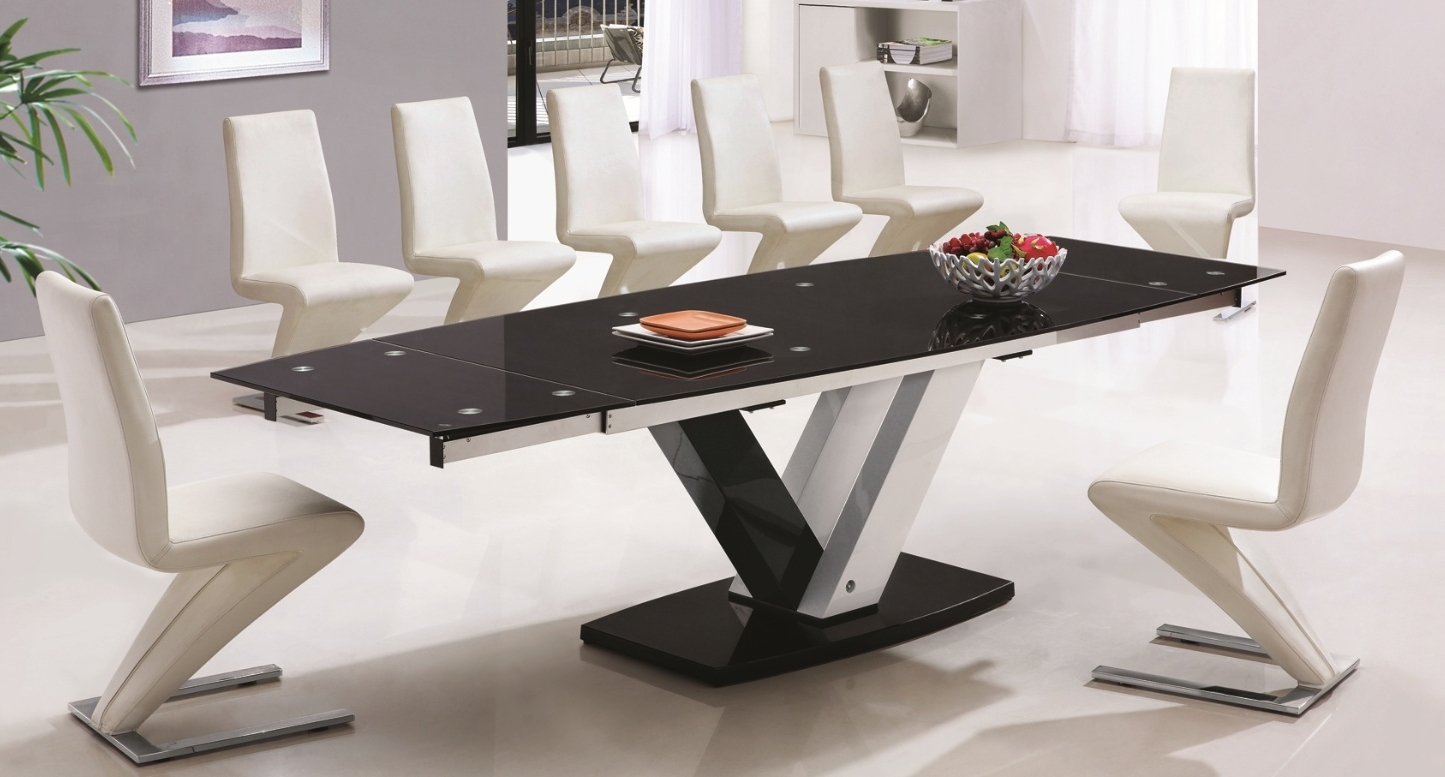 Widely Used 10 Seat Dining Tables And Chairs With Regard To Choose 10 Seater Dining Table Better Comfort Of Whole Family For (View 23 of 25)