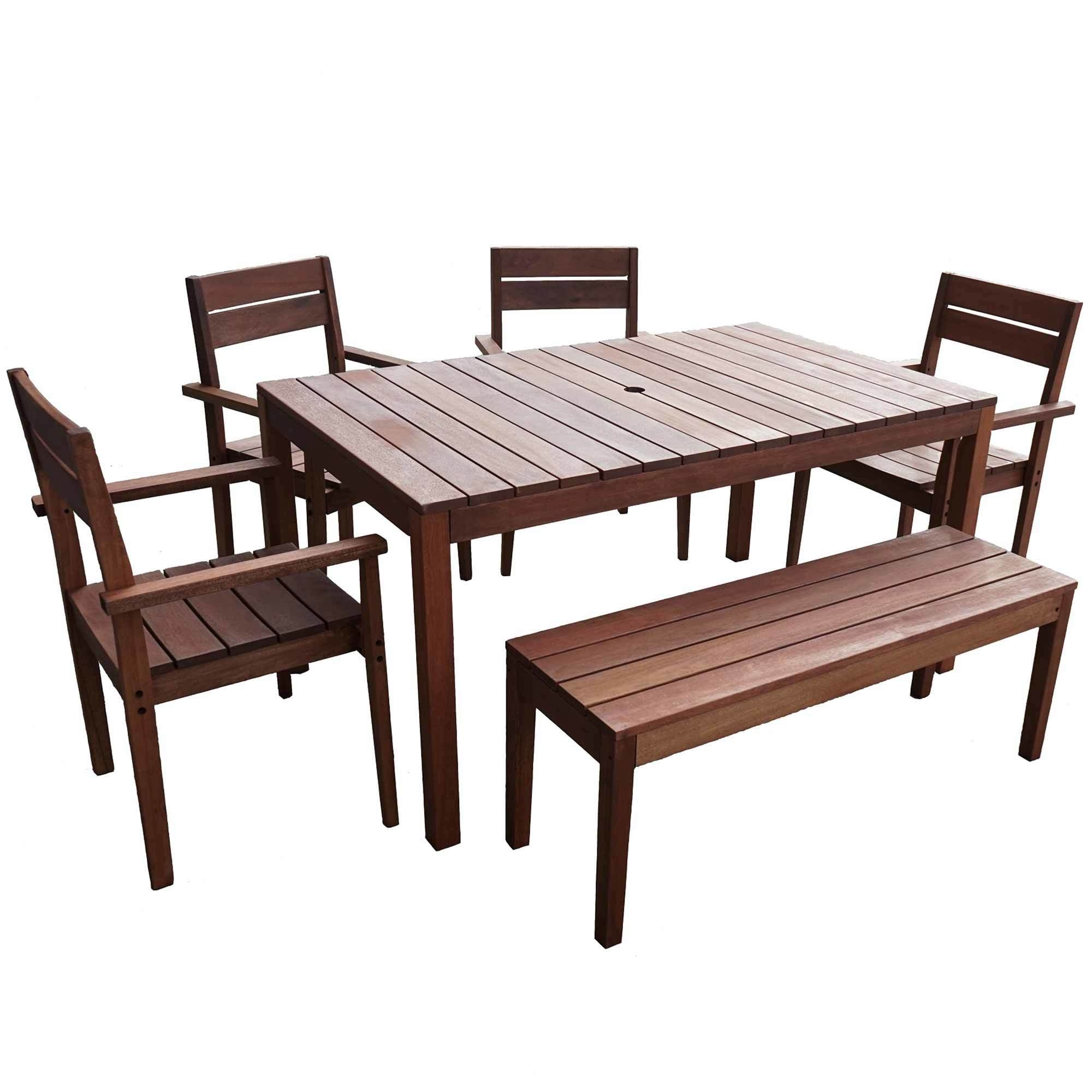 Widely Used 8 Seat Outdoor Dining Tables With 6 Seater Outdoor Dining Table Set I (View 21 of 25)