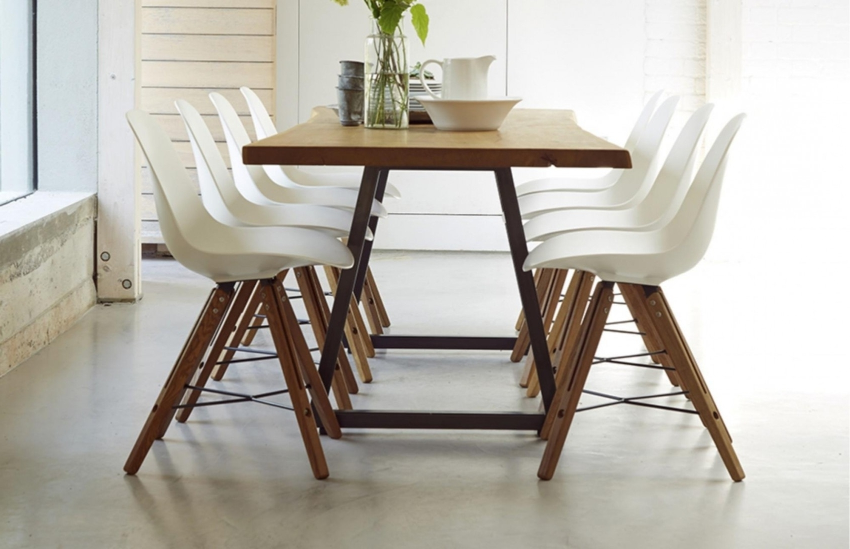 Widely Used 8 Seater Extendable Glass Dining Table Intended For Extendable Dining Tables With 8 Seats (View 6 of 25)