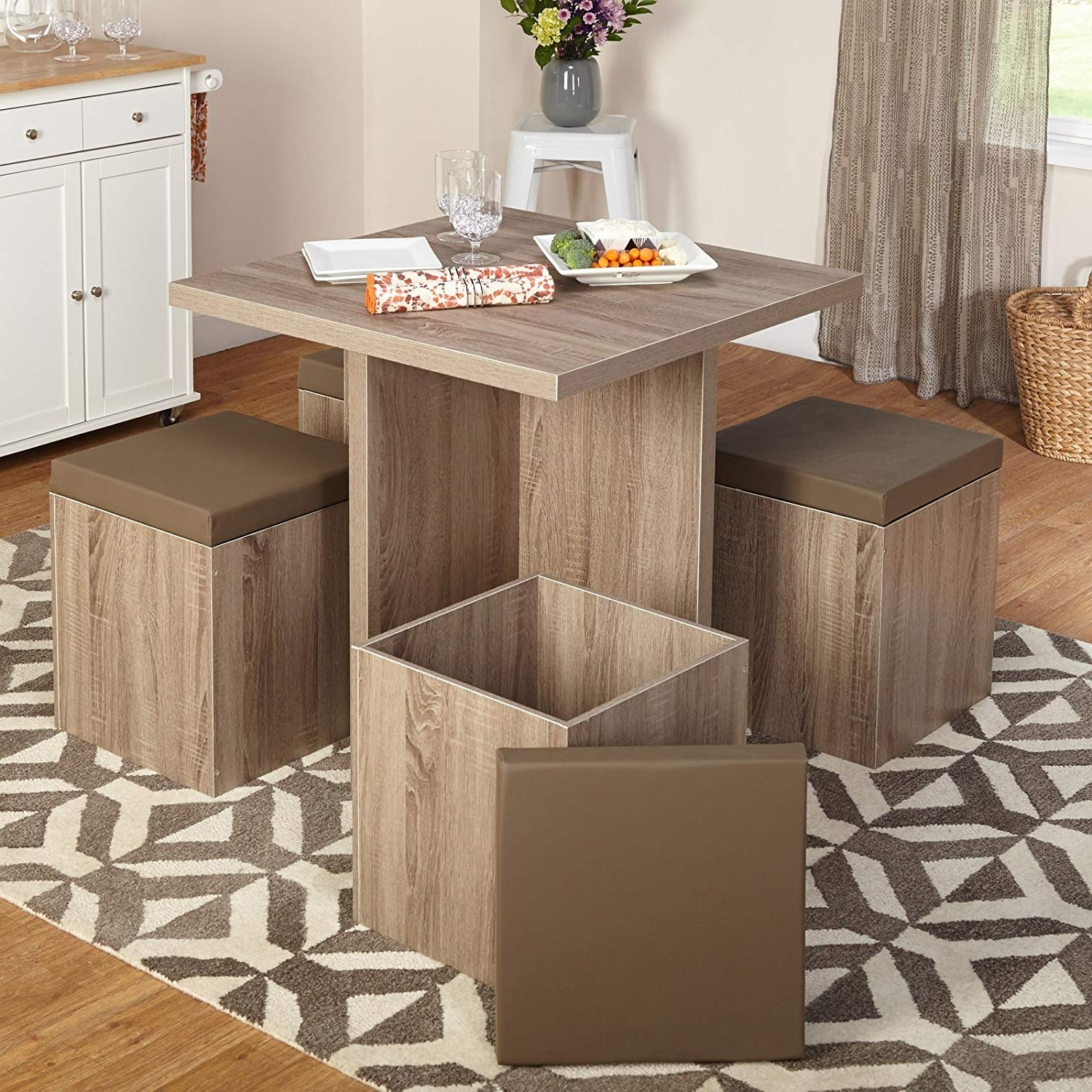 Widely Used Amazon – Target Marketing Systems 72015Nat Baxter Dining Set Inside Compact Dining Room Sets (View 25 of 25)