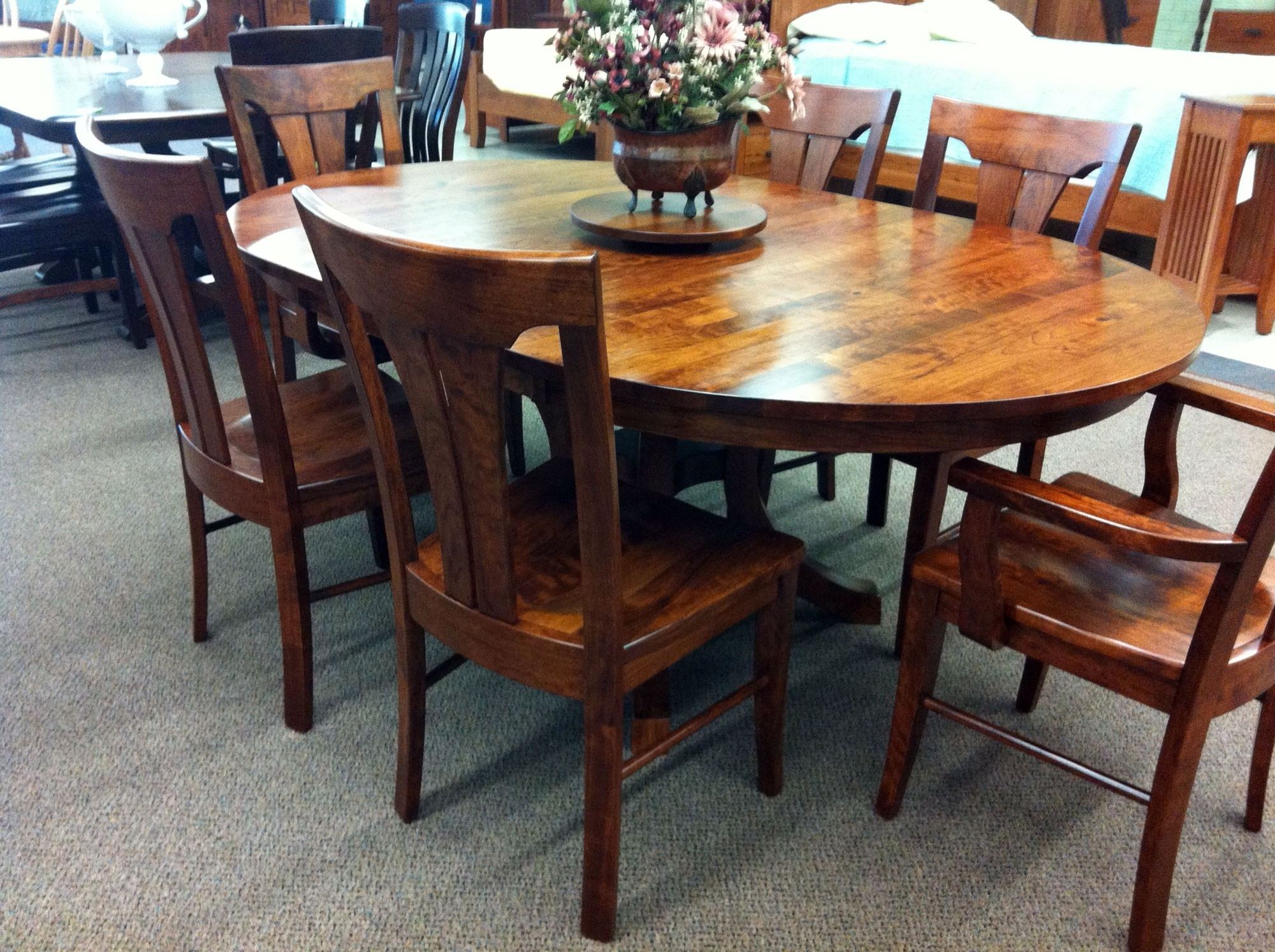 Widely Used Antique Oval Dining Tables For Sale Beautiful Art Deco Round In Big Dining Tables For Sale (View 10 of 25)