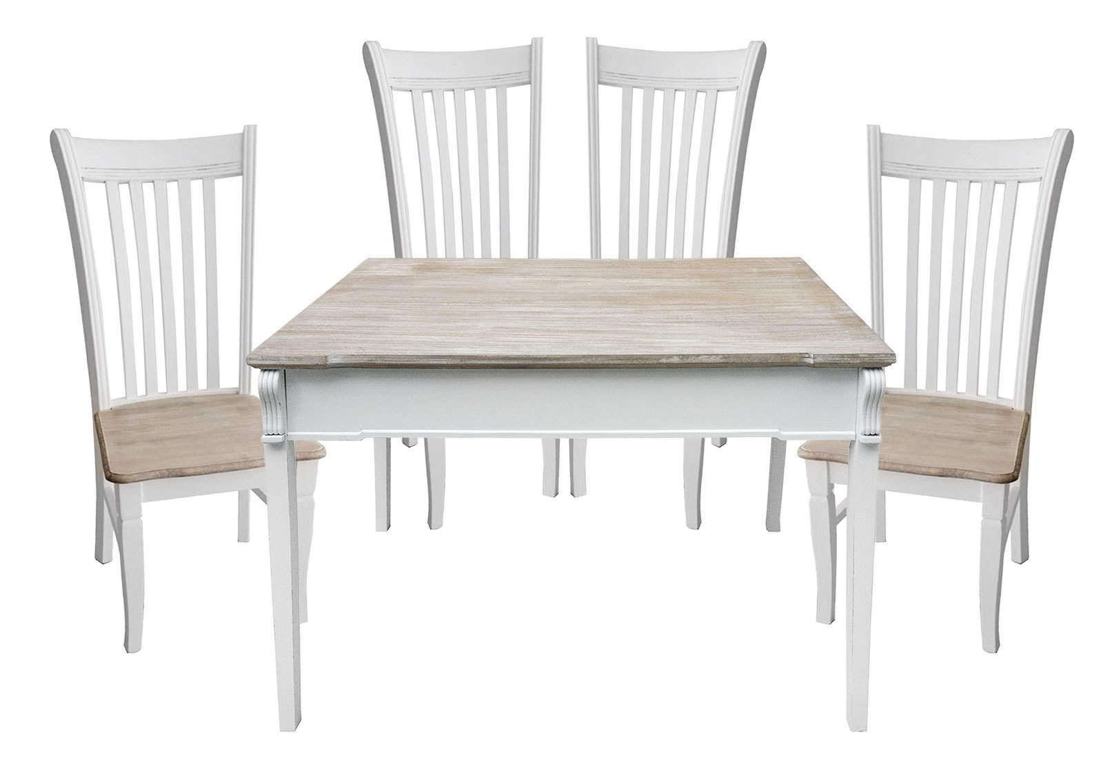 Widely Used Bentley Home Shabby Chic Dining Set (View 11 of 25)