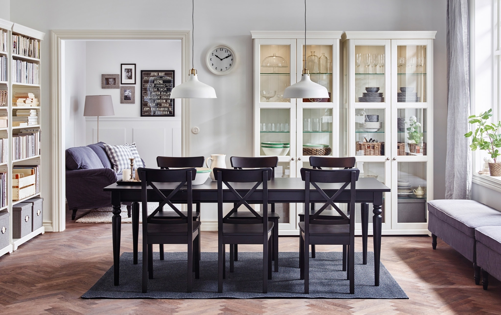 Widely Used Black Extendable Dining Tables And Chairs With Regard To Dining Room Furniture & Ideas (View 5 of 25)