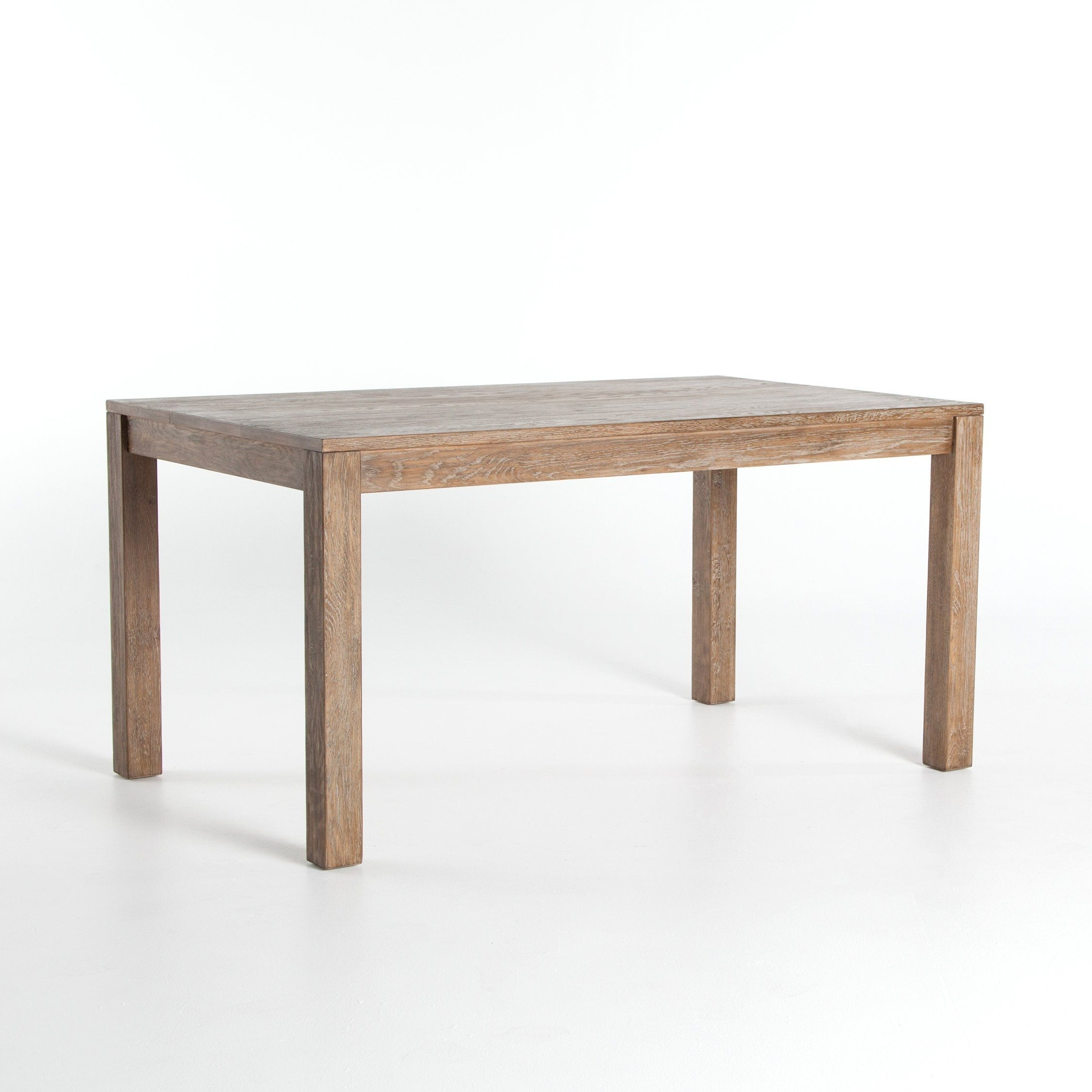 Widely Used Caden Dining Table: Light Burnt Oak (View 16 of 25)