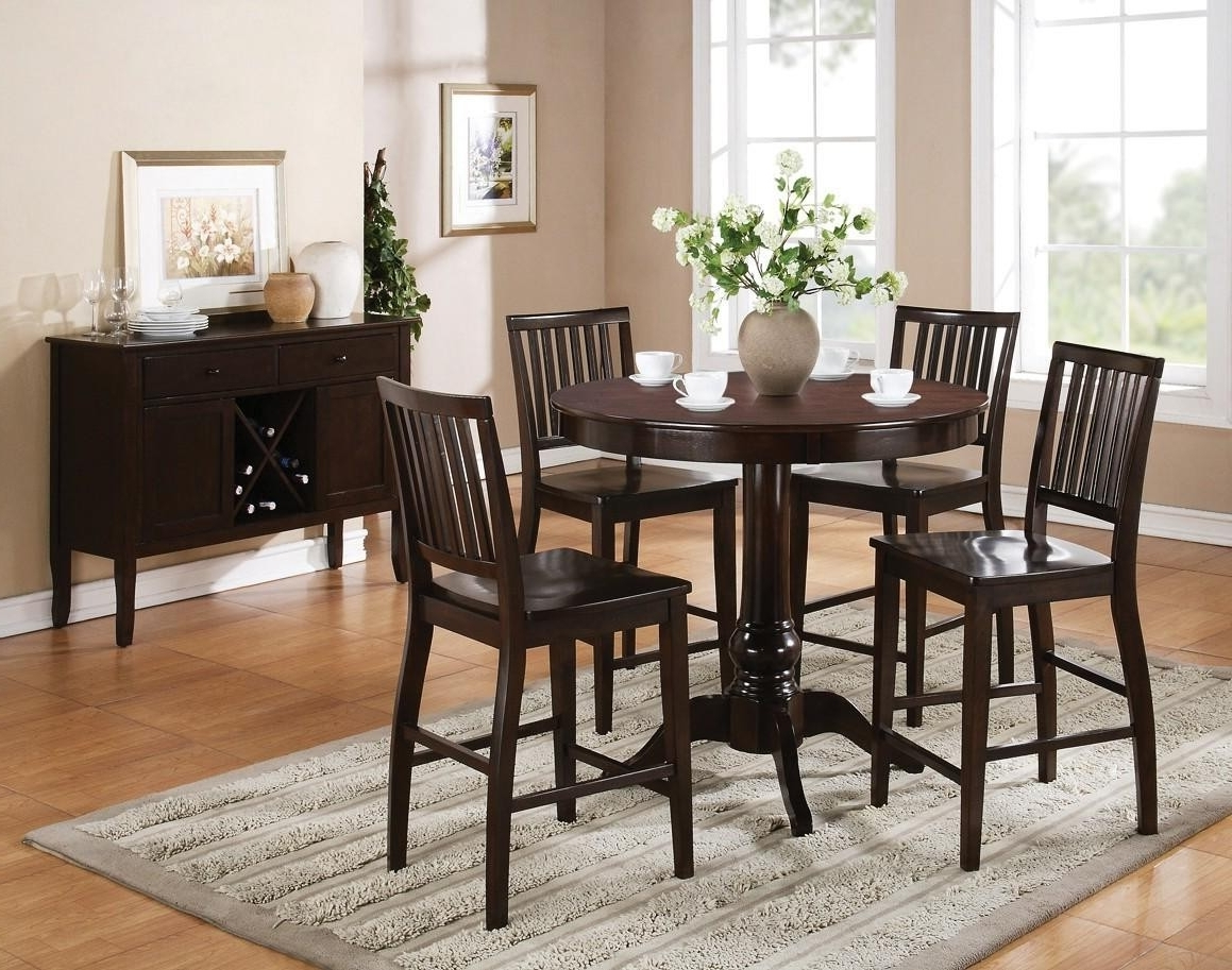 Widely Used Candice Ii Round Dining Tables Throughout Buy Candice Round Pedestal Bar Table Setsteve Silver From Www (View 8 of 25)