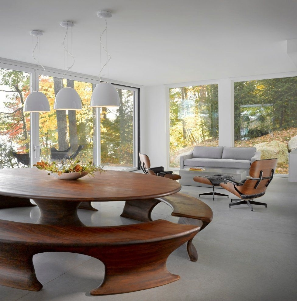 Widely Used Cantilever Lake Housebrian Mac I Have A Slight Obsession W The With Bale 6 Piece Dining Sets With Dom Side Chairs (View 13 of 25)