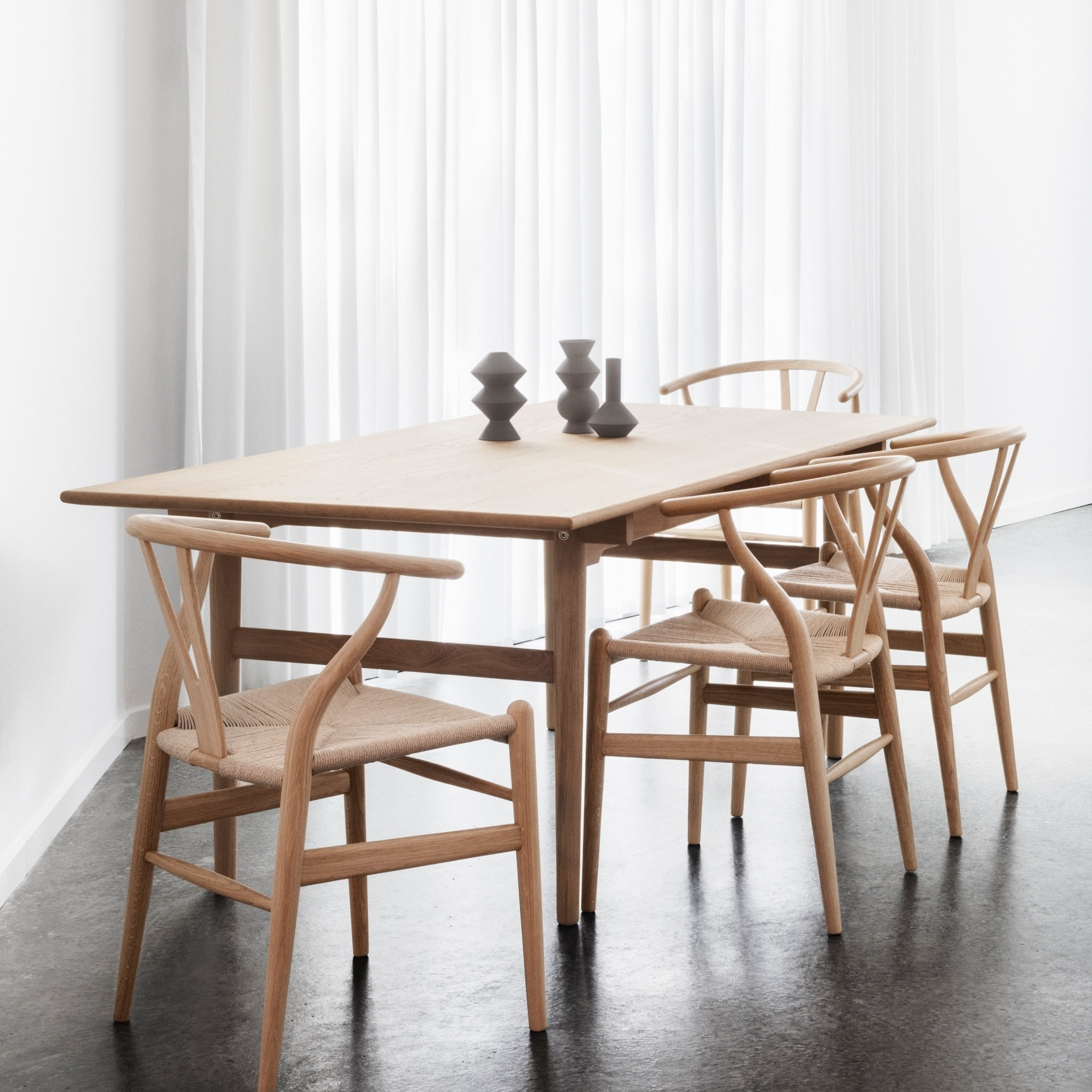 Widely Used Ch327 Dining Tablecarl Hansen & Søn — Haus® For Dining Tables London (View 11 of 25)