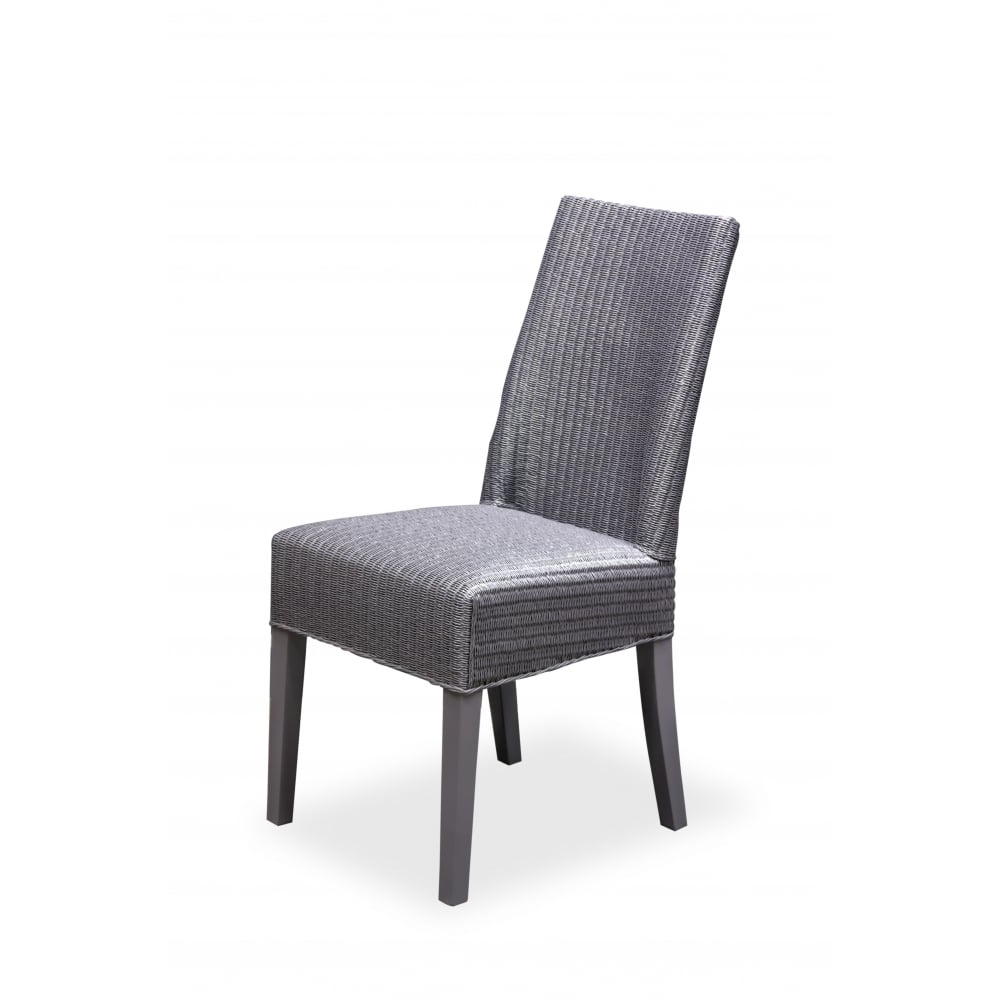Widely Used Chester Dining Chairs Inside Chester Lloyd Loom Chairs ( Storm Grey ) – Dining Room From Breeze (View 25 of 25)