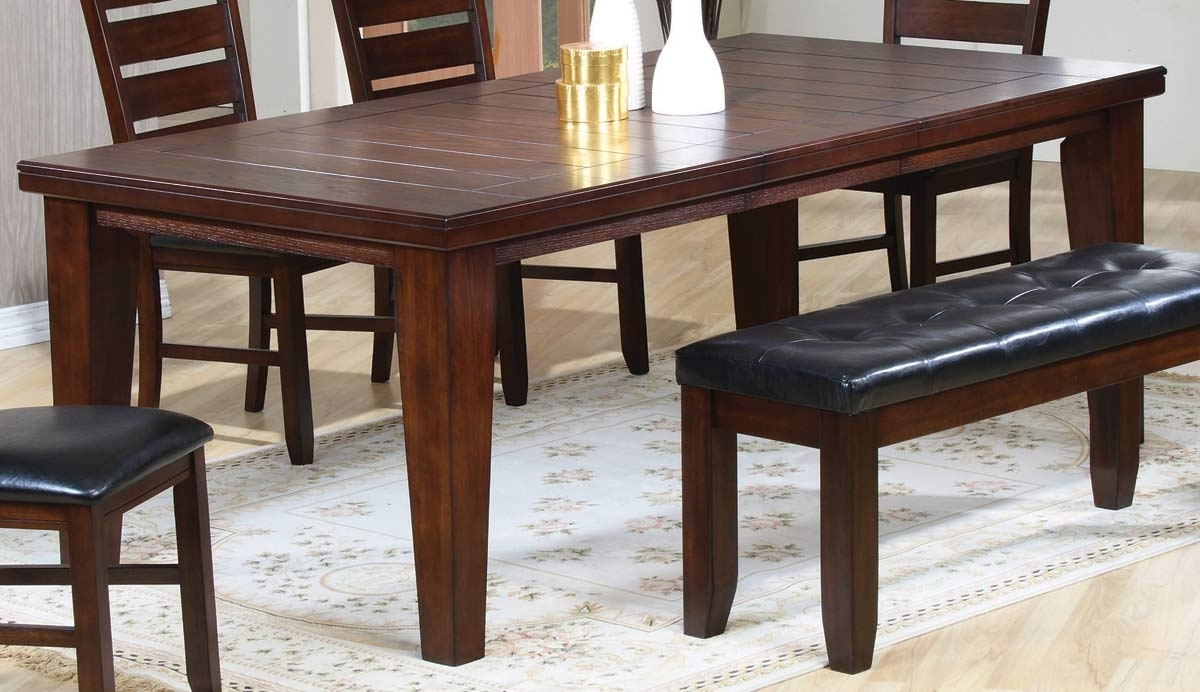 Widely Used Coaster Imperial Dining Table 101881 At Homelement In Imperial Dining Tables (View 6 of 25)