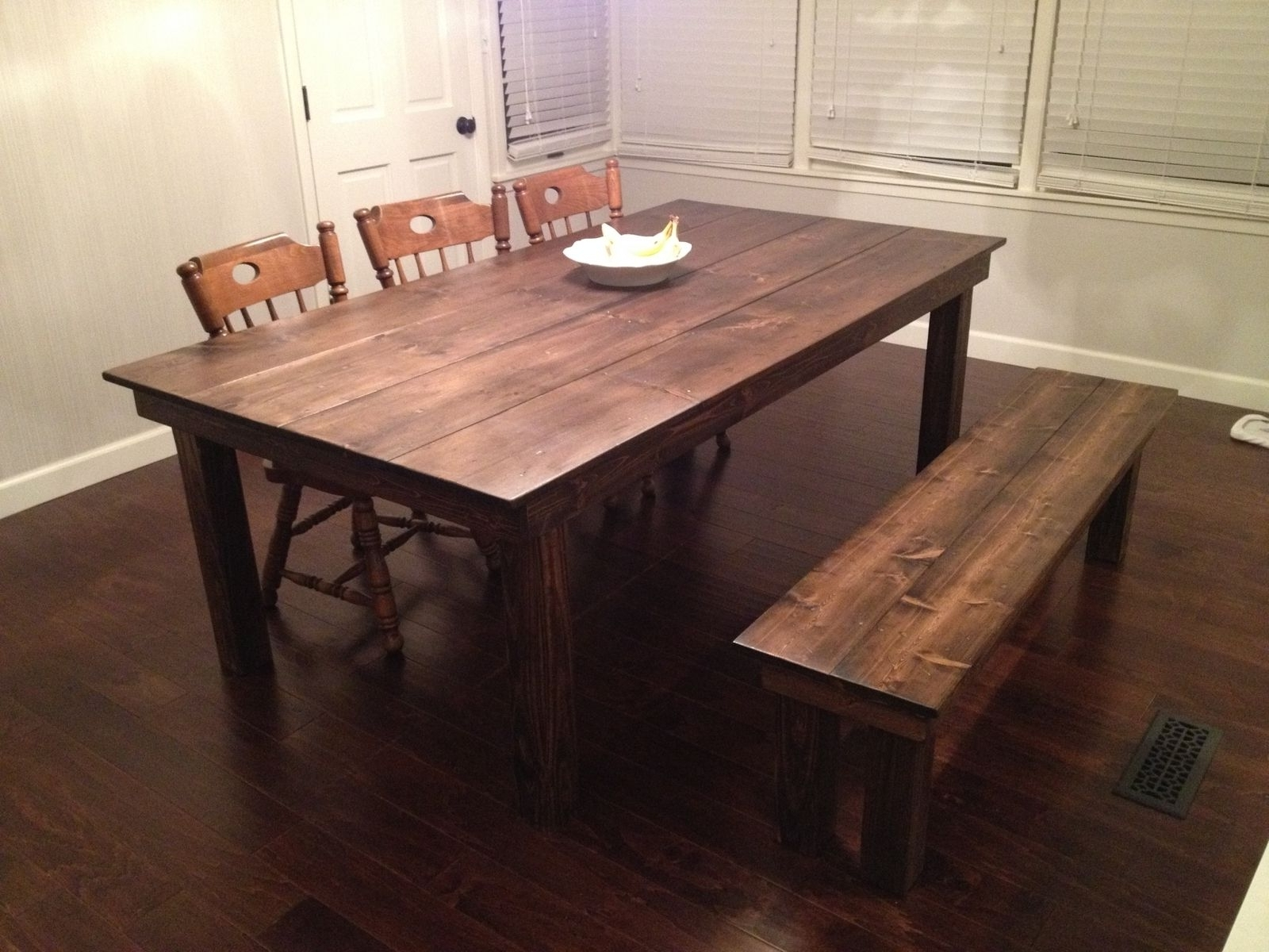 Widely Used Custom Farmhouse Dining Tablegypsum Valley Made (View 6 of 25)
