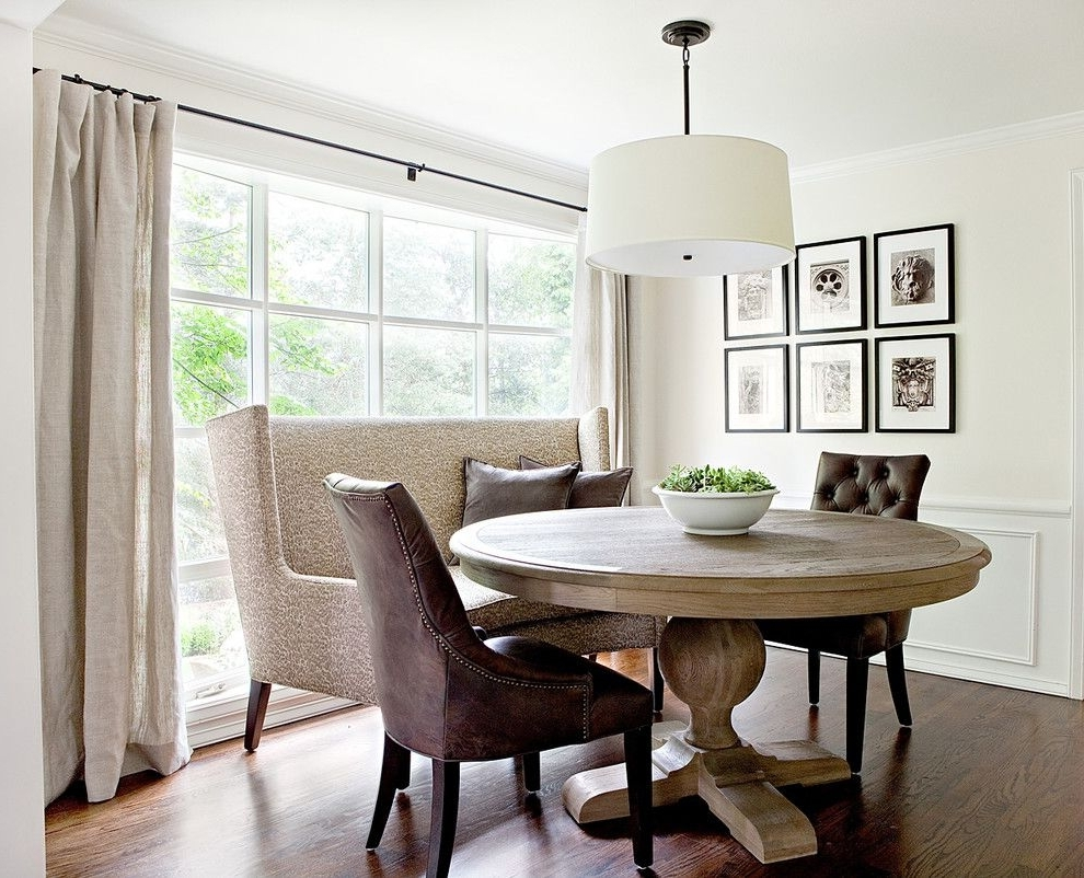 Widely Used Dazzling Expandable Round Dining Table Mode Seattle Traditional For Traditional Dining Tables (View 24 of 25)